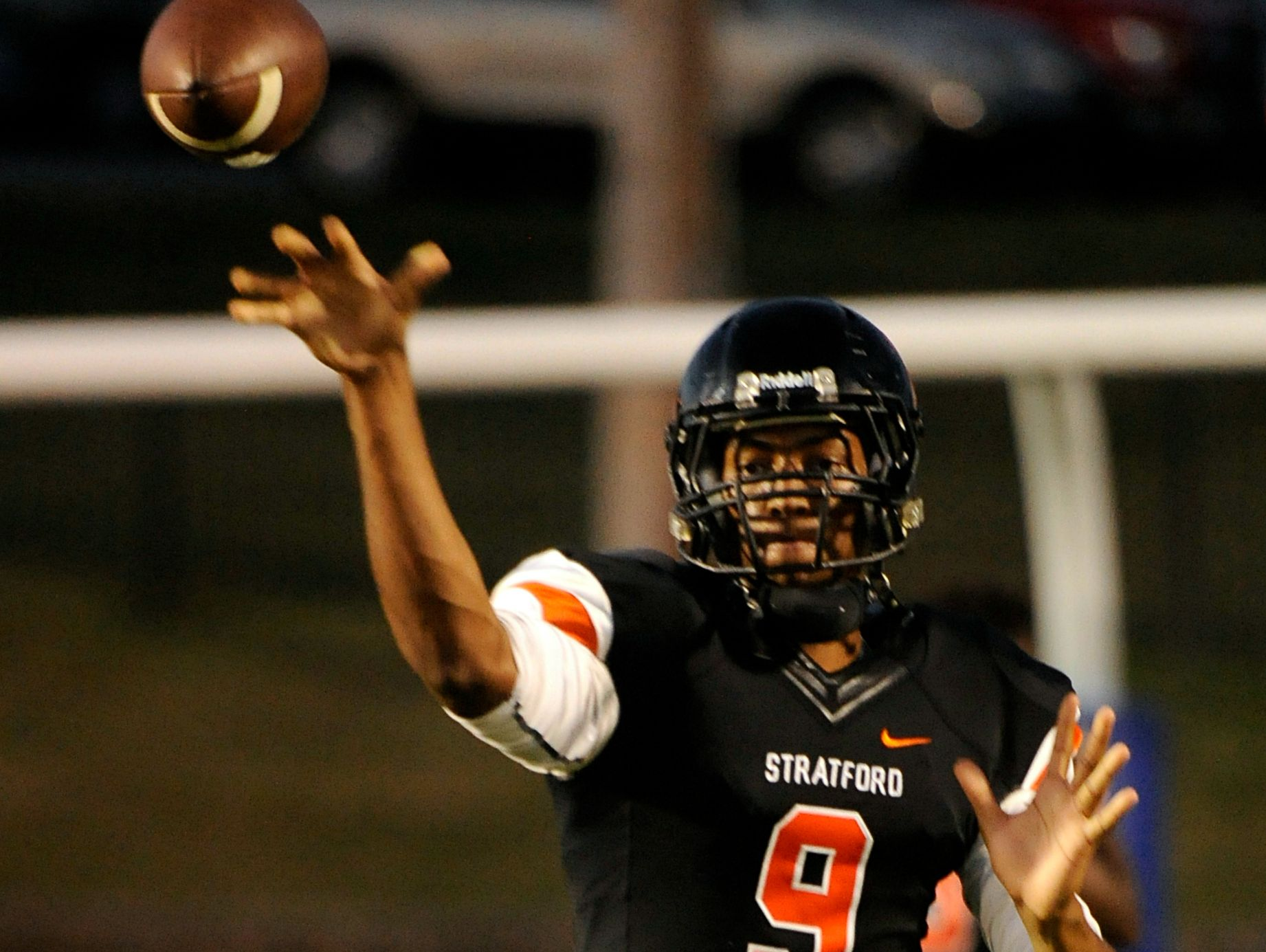 Stratford quarterback Josh Trueheart will miss the remainder of his senior season with a torn ACL.