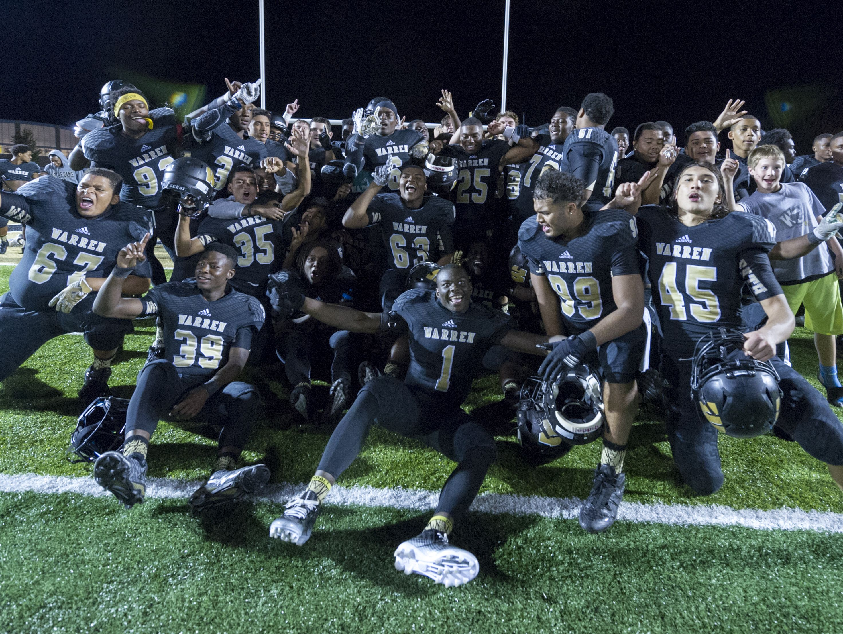 Warren Central players celebrated the school's 500th all-time win earlier this season. Will they celebrate a state title?