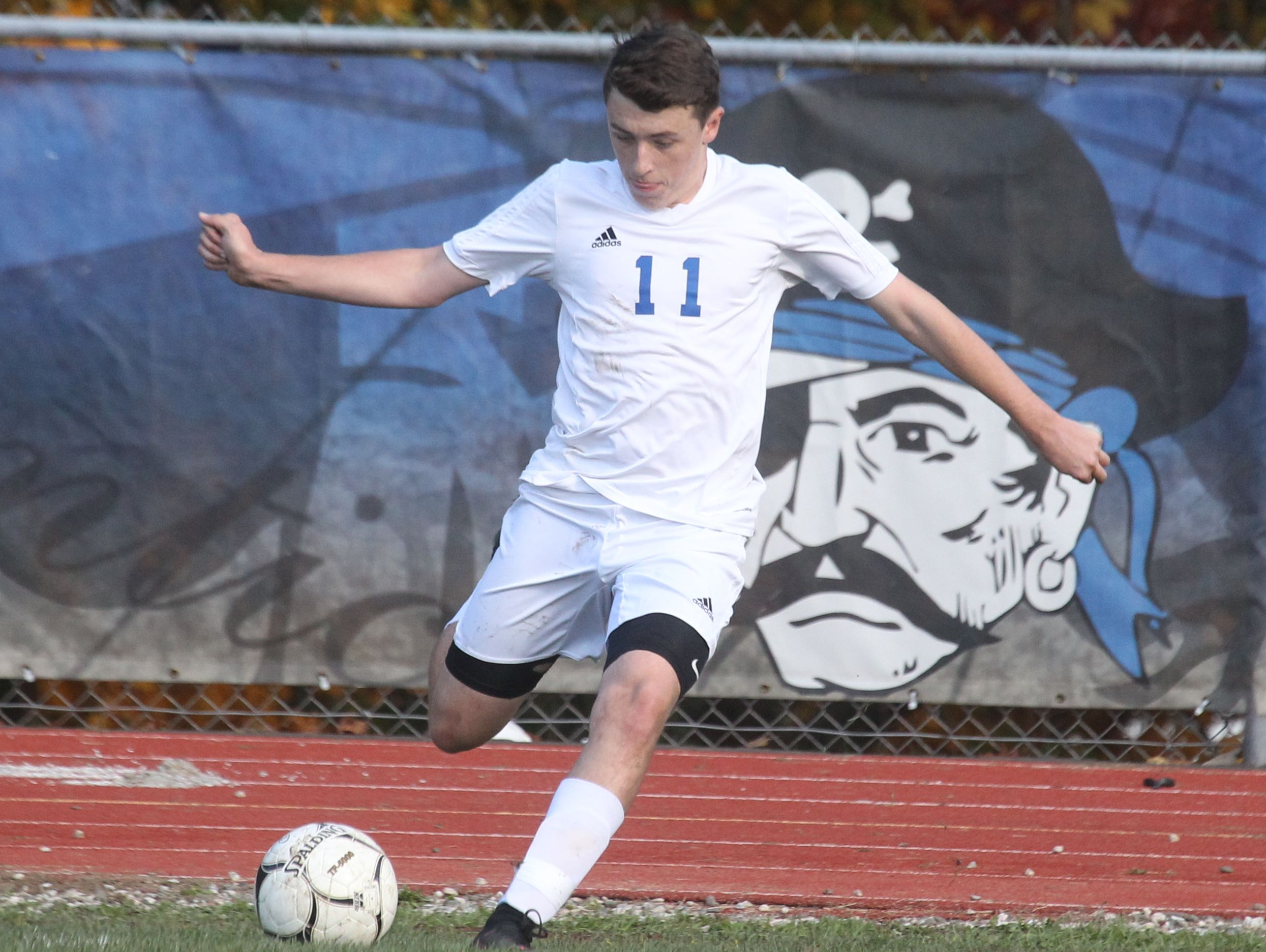 Pearl River beat Nanuet 2-1 in overtime of a Class A boys soccer quarterfinal at Pear River Oct. 24, 2016.
