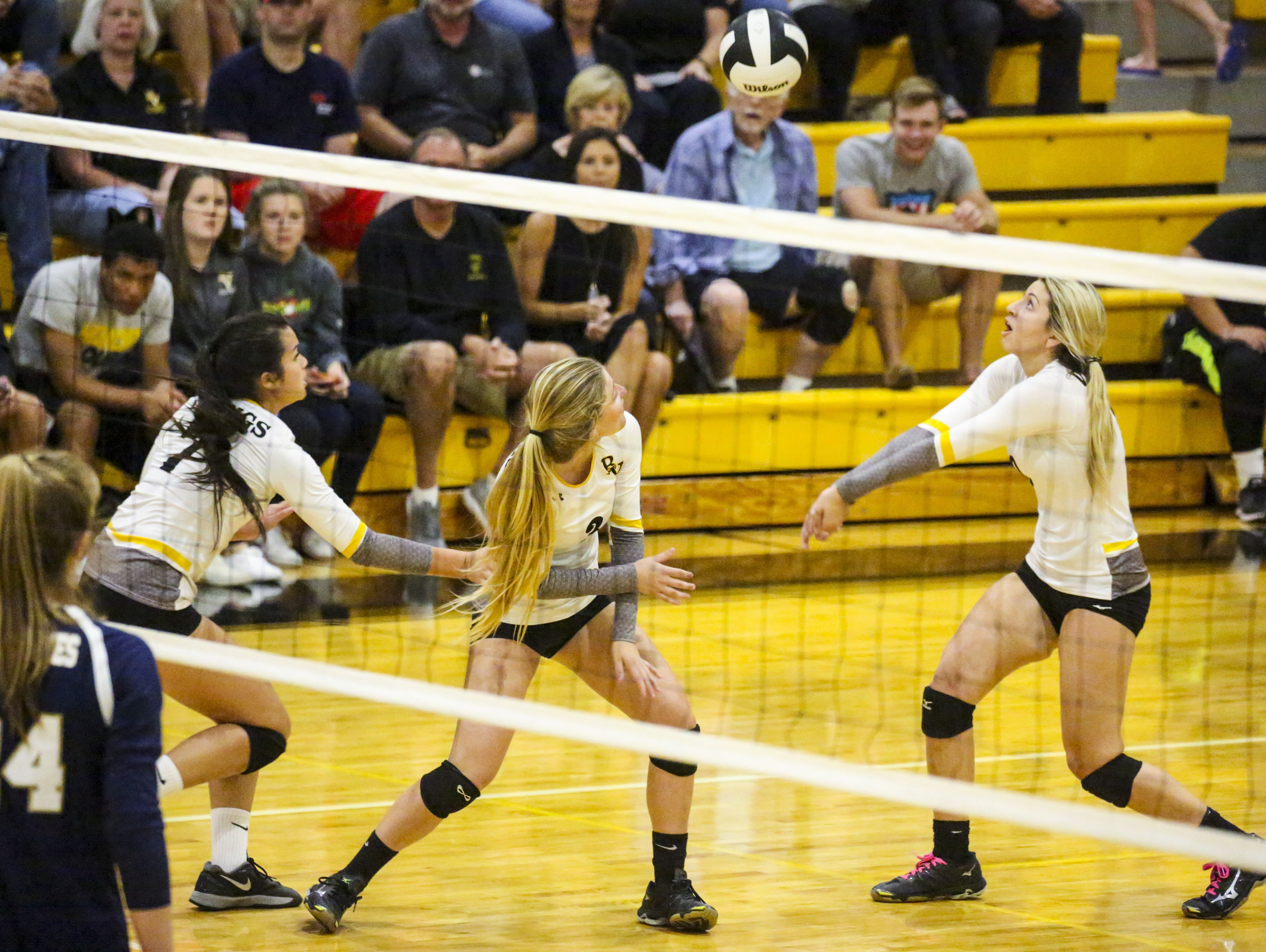 Tampa Academy of Holy Names played Bishop Verot in their Region 5A-3 volleyball quarterfinal.