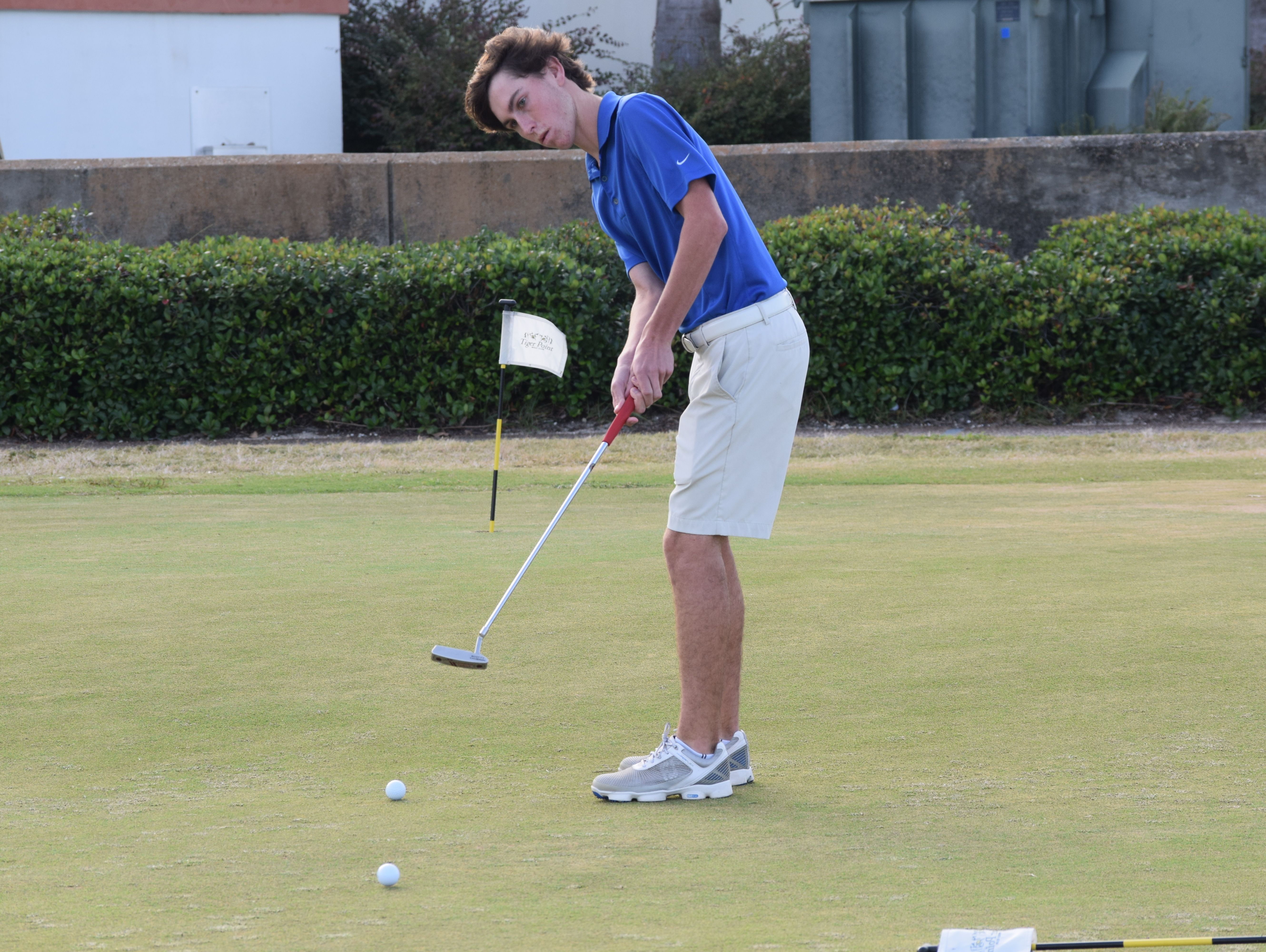 Gulf Breeze High's Nolan Remig is part of a team that has played in state tournament in the past five years and among four area teams in this year's tournament.