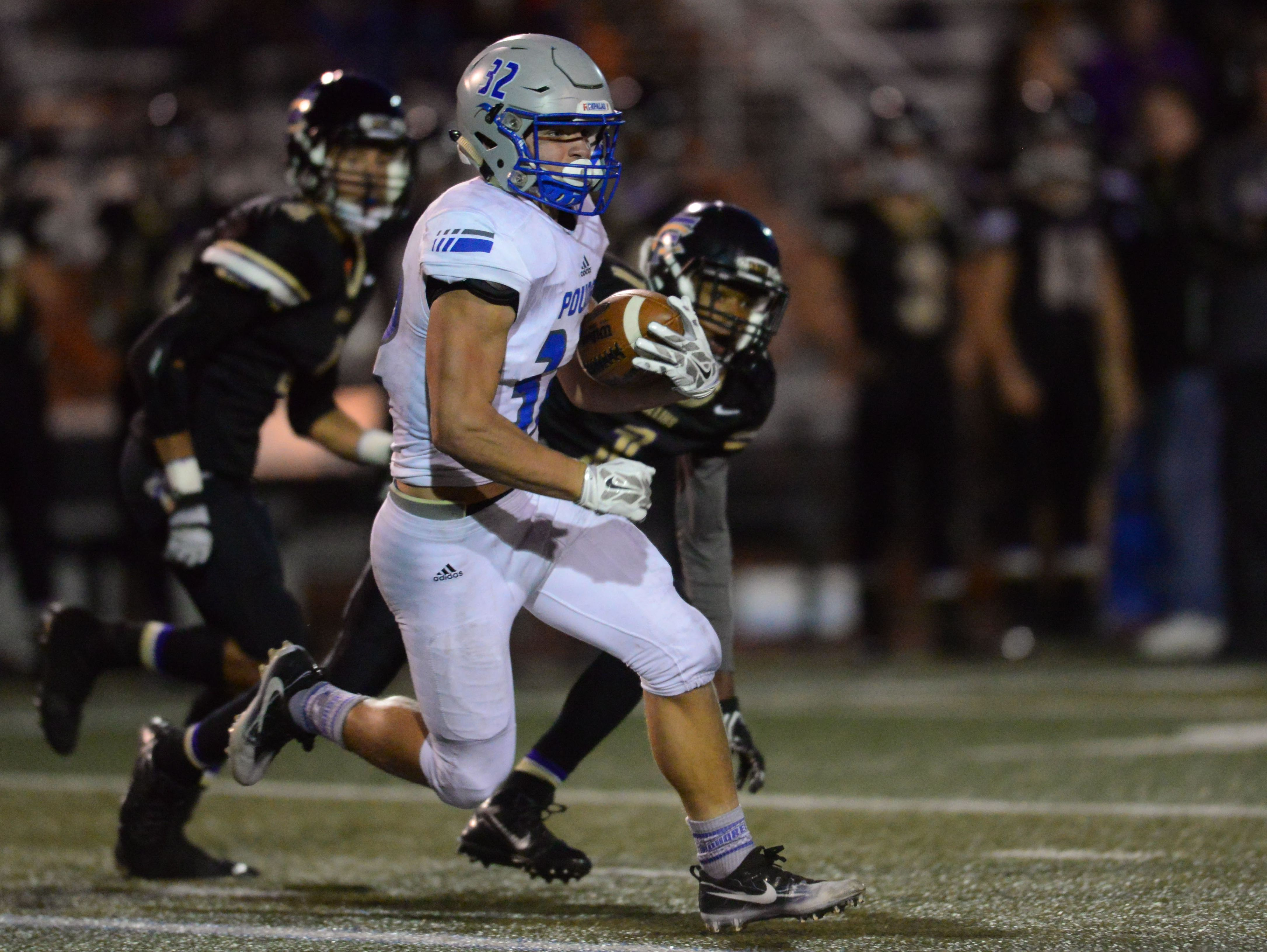 Poudre running back JT Erickson is sixth in Class 5A with 898 rushing yards.