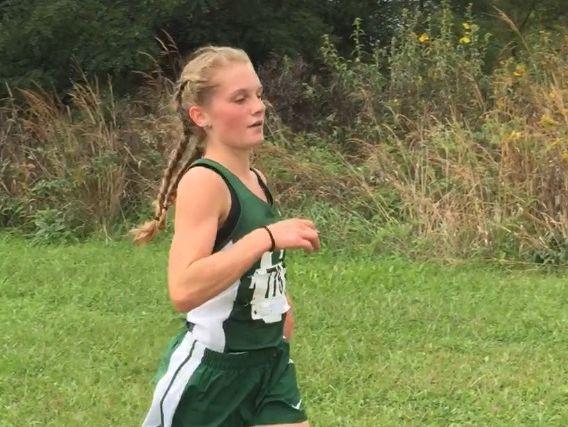 Jenna Barker, Athlete of the Week 10.17-22, 2016