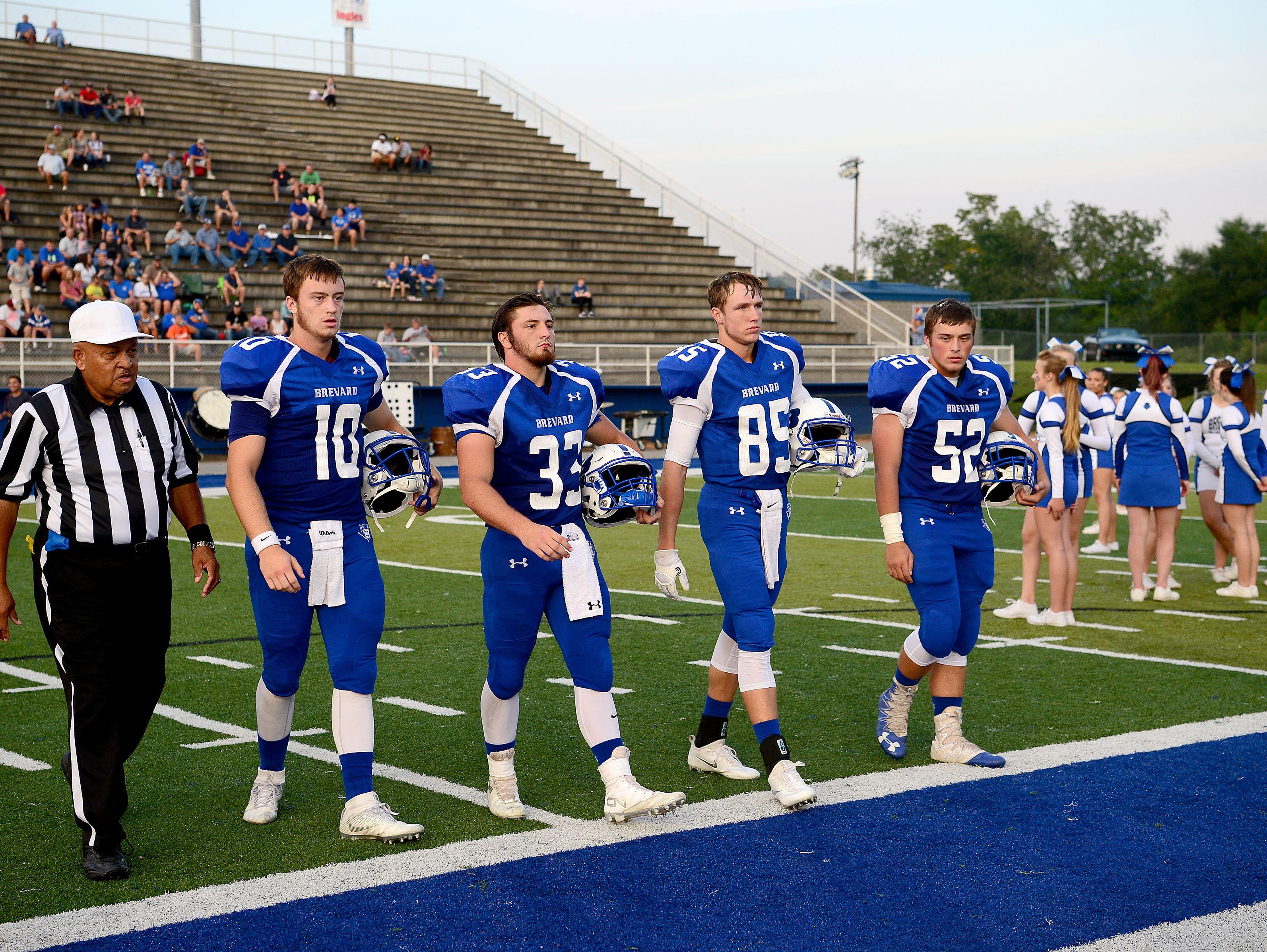 Brevard's team captains.