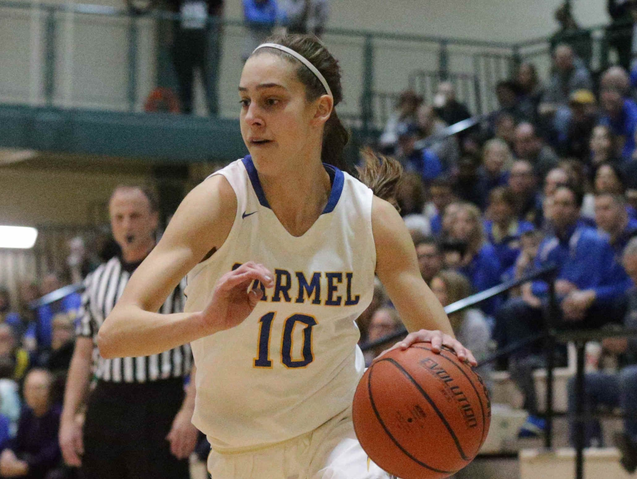 Carmel's Amy Dilk is one of the top point guards in Central Indiana.
