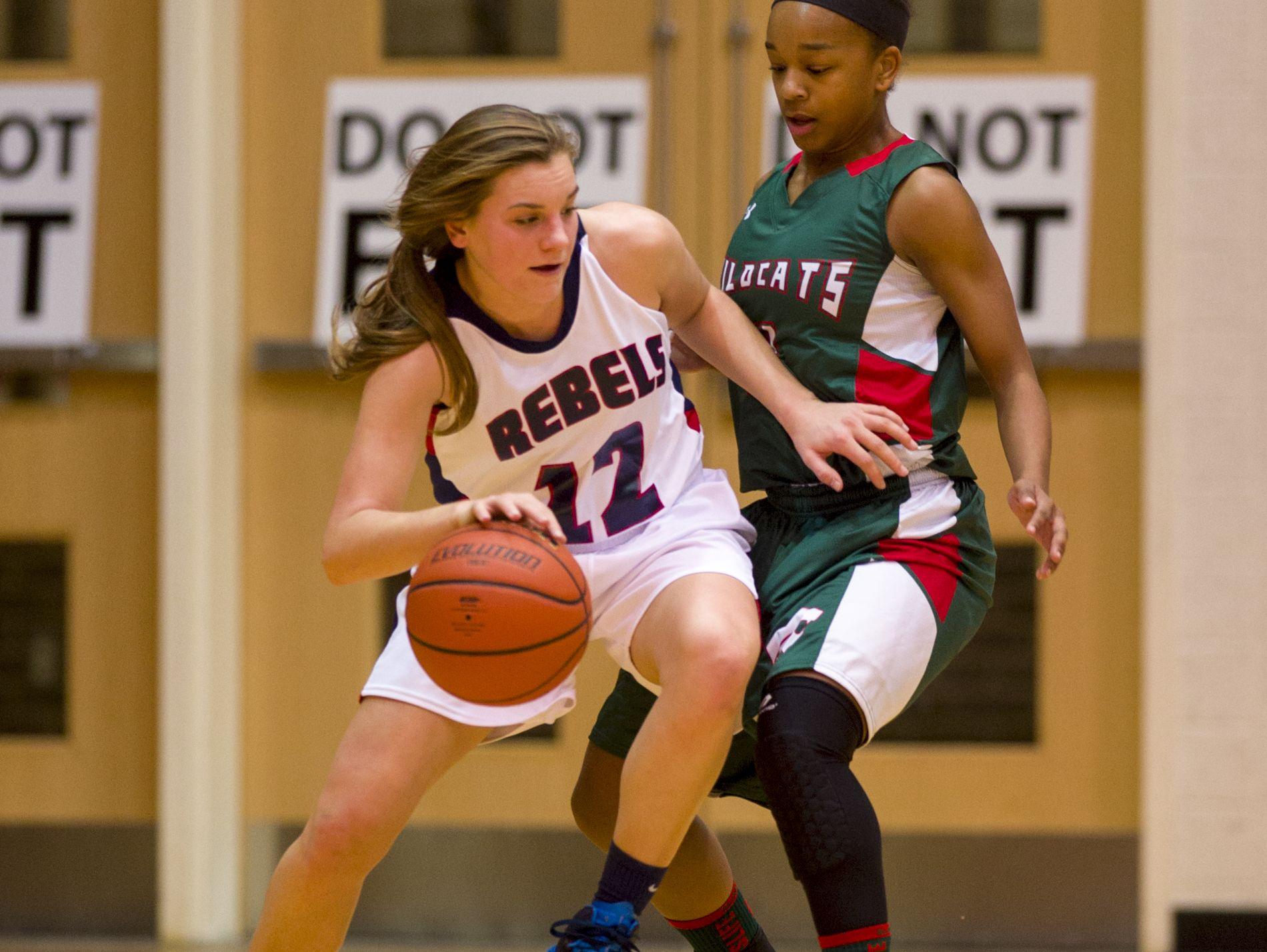 Paige Saylor (12) returns for a Roncalli team hit hard by graduation.