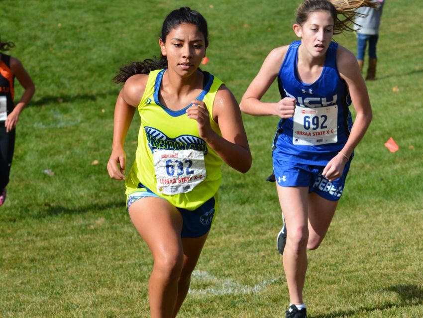 Despite some unique challenges, the Parowan girls cross country team won its second consecutive 1A state title at Sugar House Park.