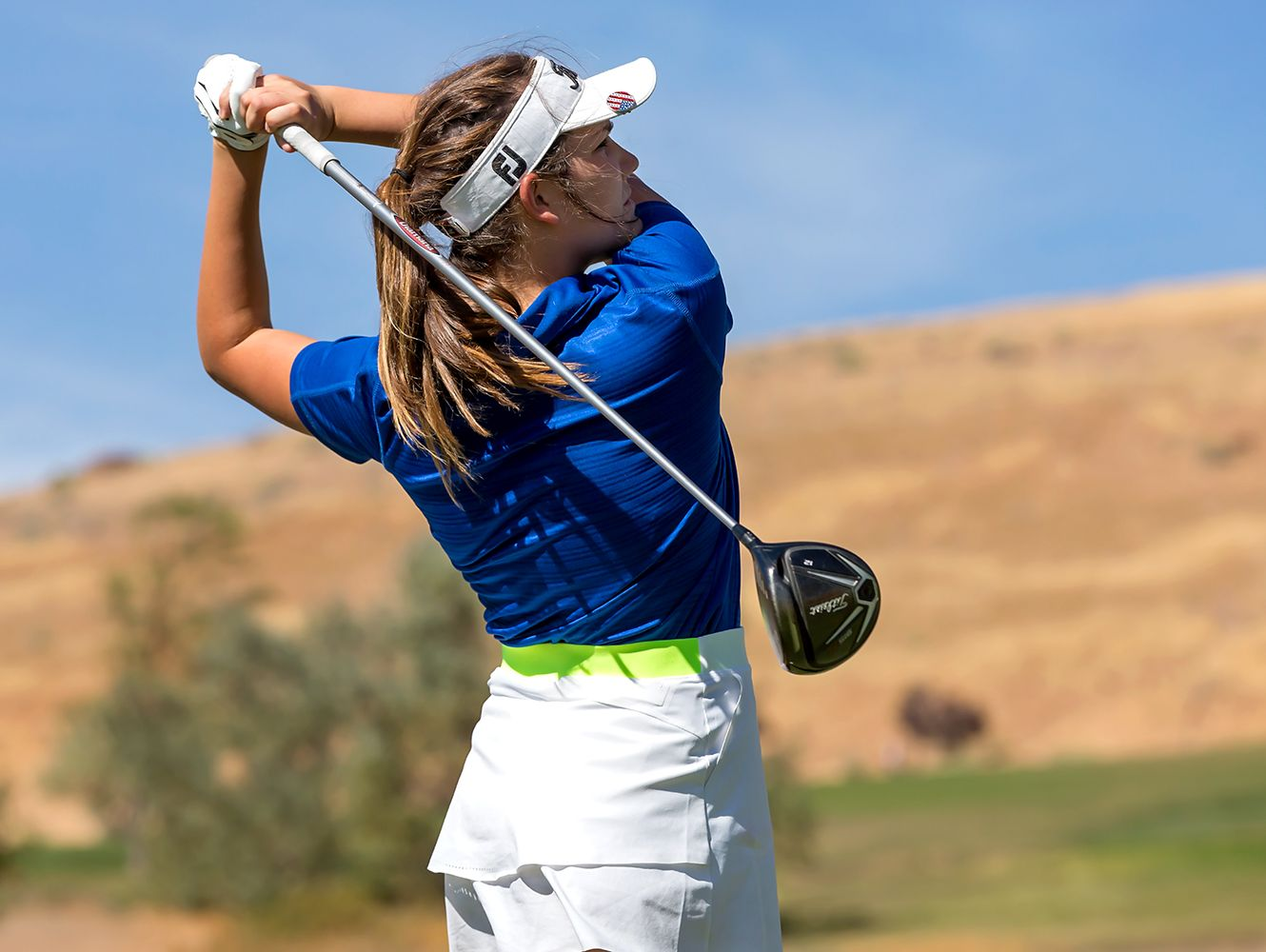 Reno sophomore Abbi Fleiner is the Northern 4A golfer of the year.