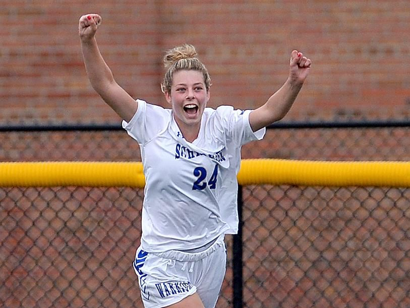 Maddy Lowe has 12 goals and three assists for third-seeded Webster Schroeder. She didn't play last fall as a junior so she could practice and compete with an elite academy team in New Jersey but wants to win a sectional title in her final season.