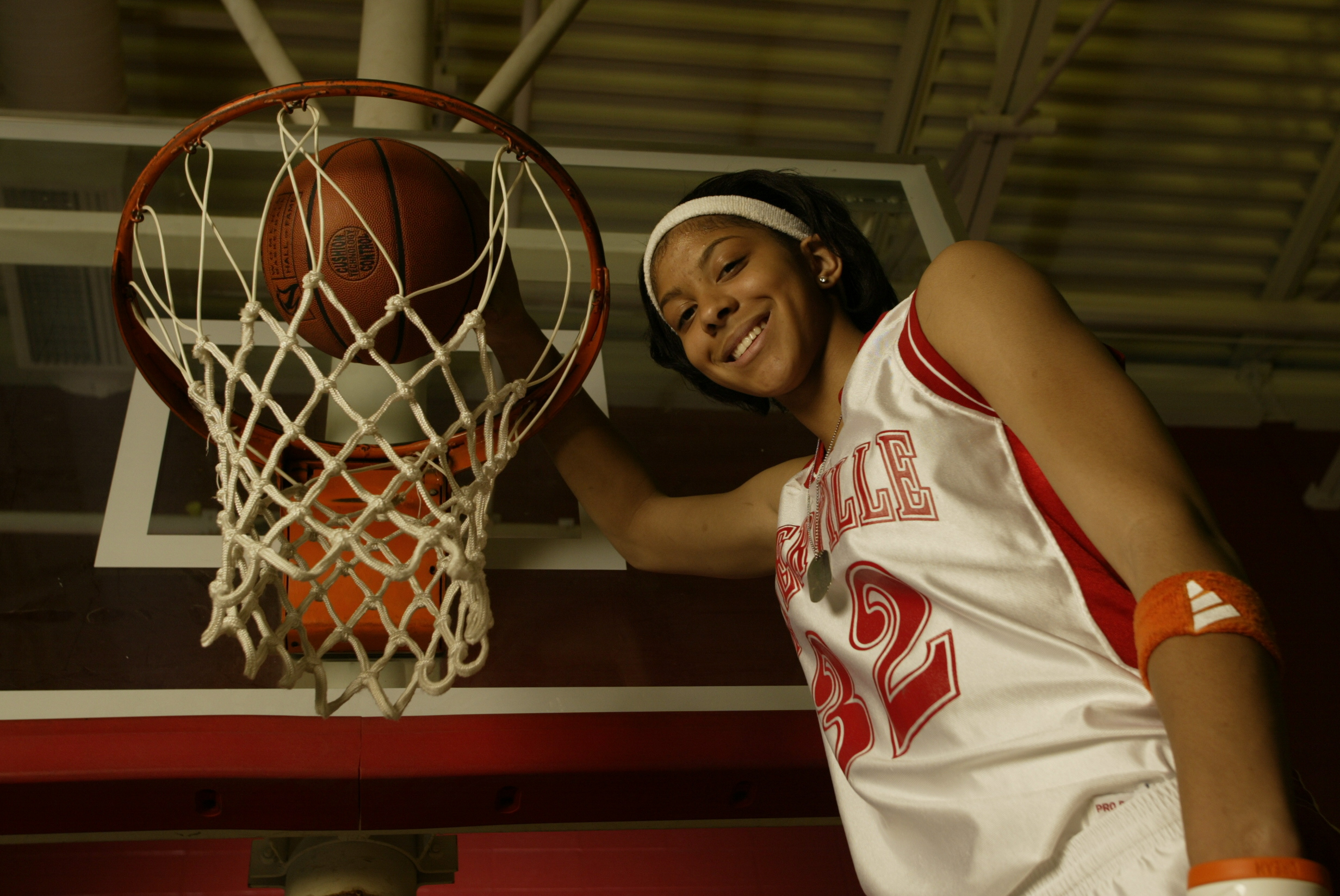 All USA player of the year Candace Parker, Naperville, IL