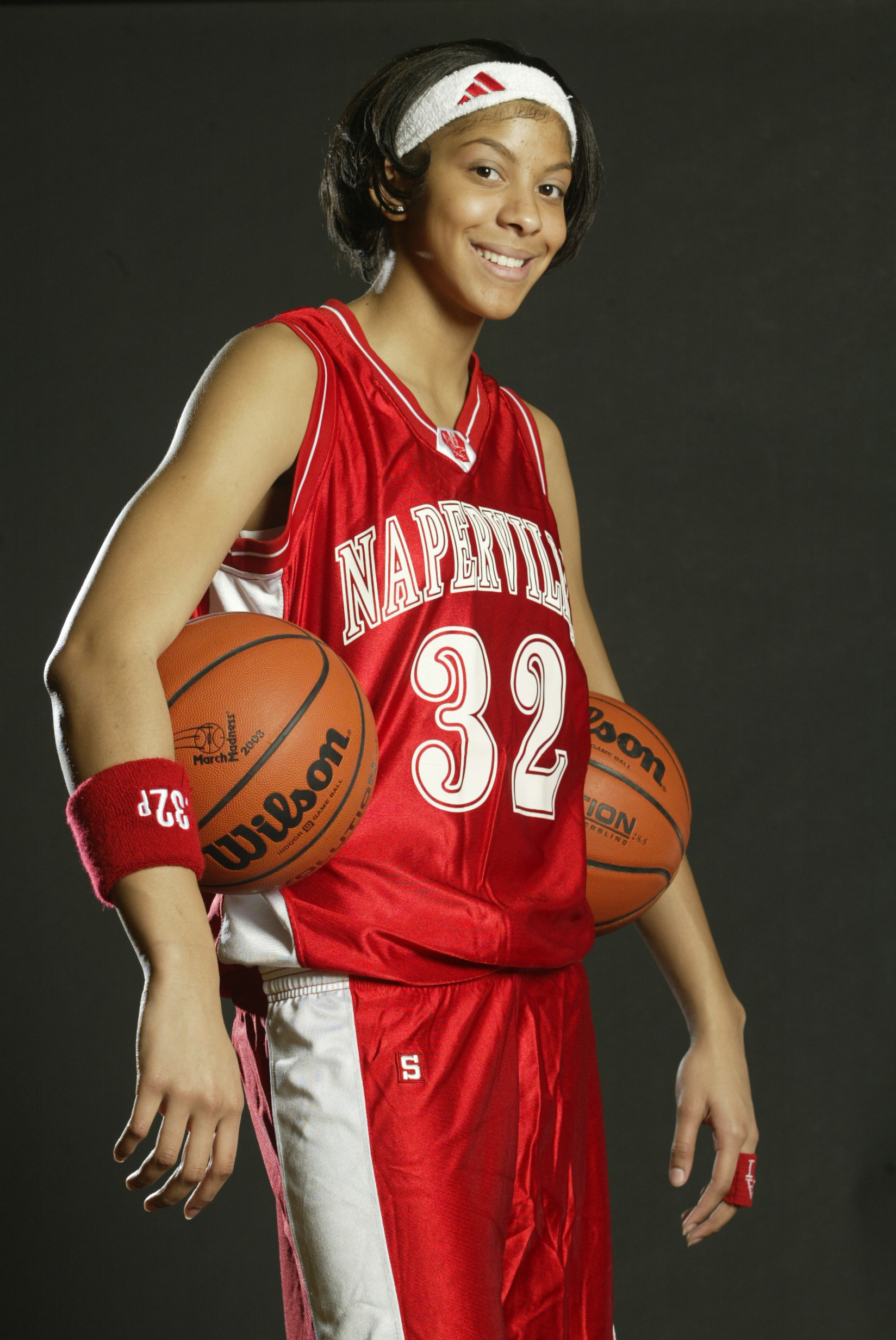 All USA Girls Basketball Team player Candace Parker --- DATE TAKEN: 4/7/2003 By John Zich USAT , Source: For USA TODAY Naperville IL UNL - Unlimited reuse ORG XMIT: PX93709