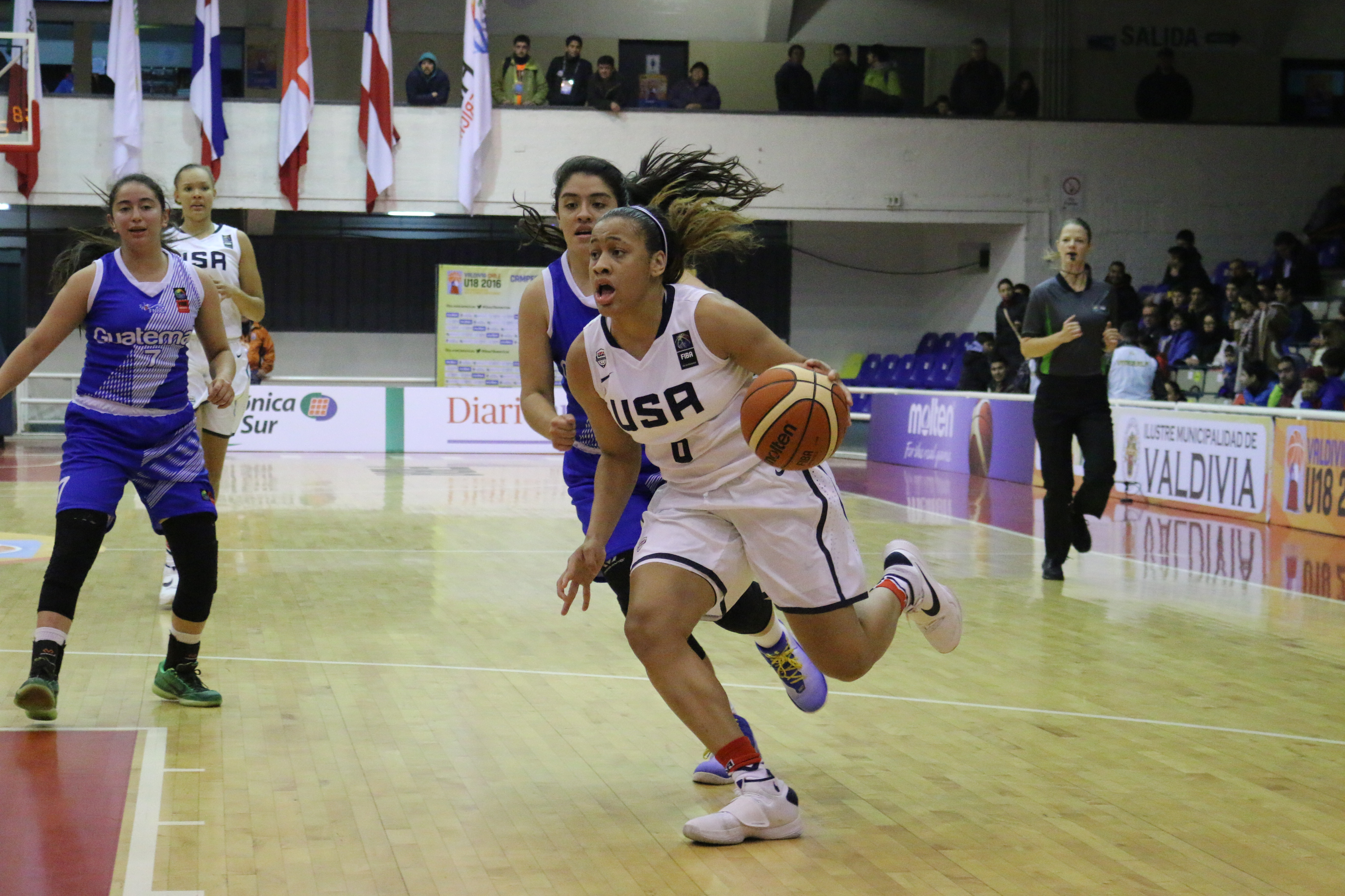 Chennedy Carter is among seven players from Texas (Photo: USA Basketball)