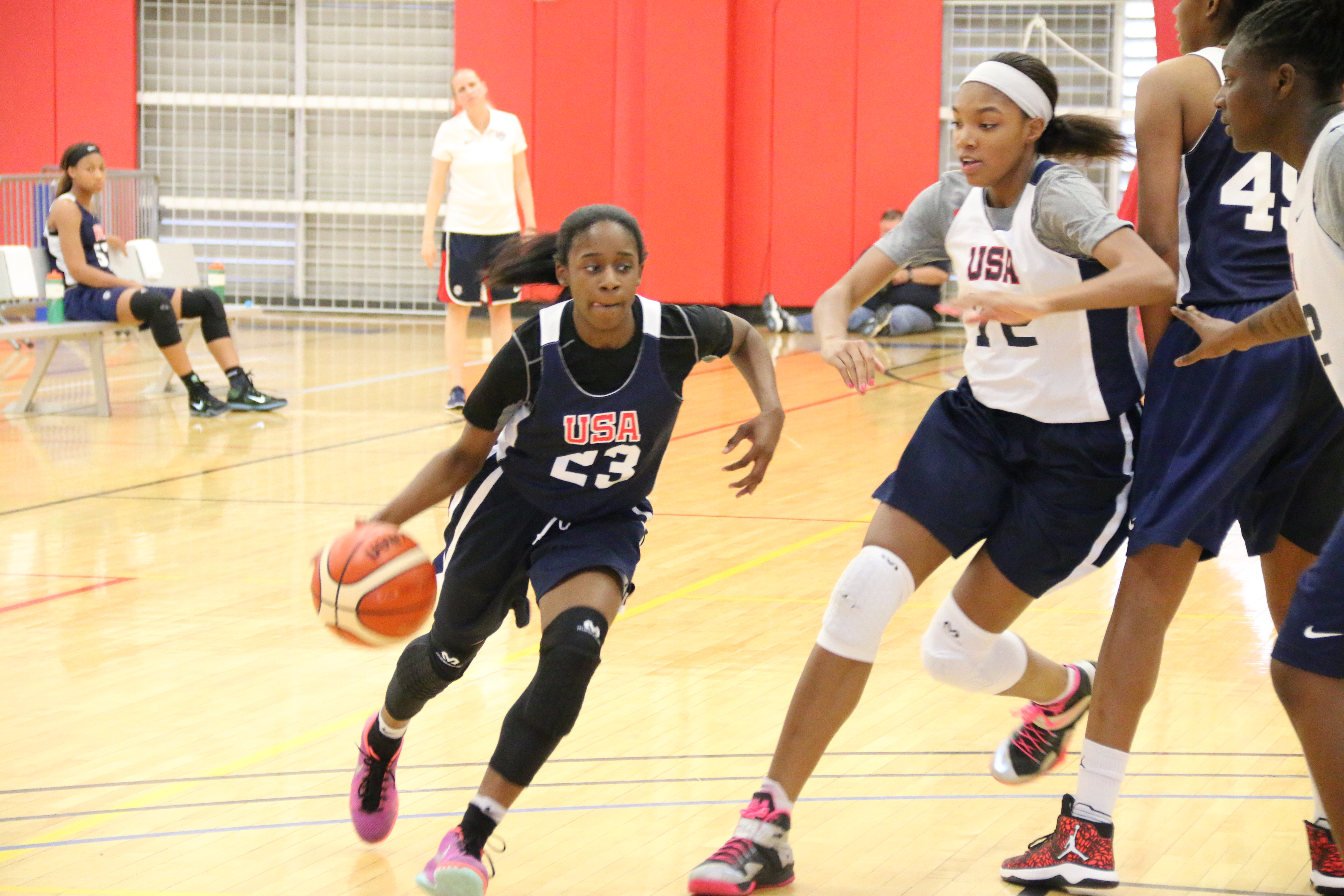 Chasity Patterson has given a verbal commitment to Texas (Photo: USA Basketball)