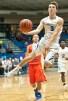 Charlestown guard Jordan Knoebel moves toward the basket on a fast break against Silver Creek. November 29, 2016