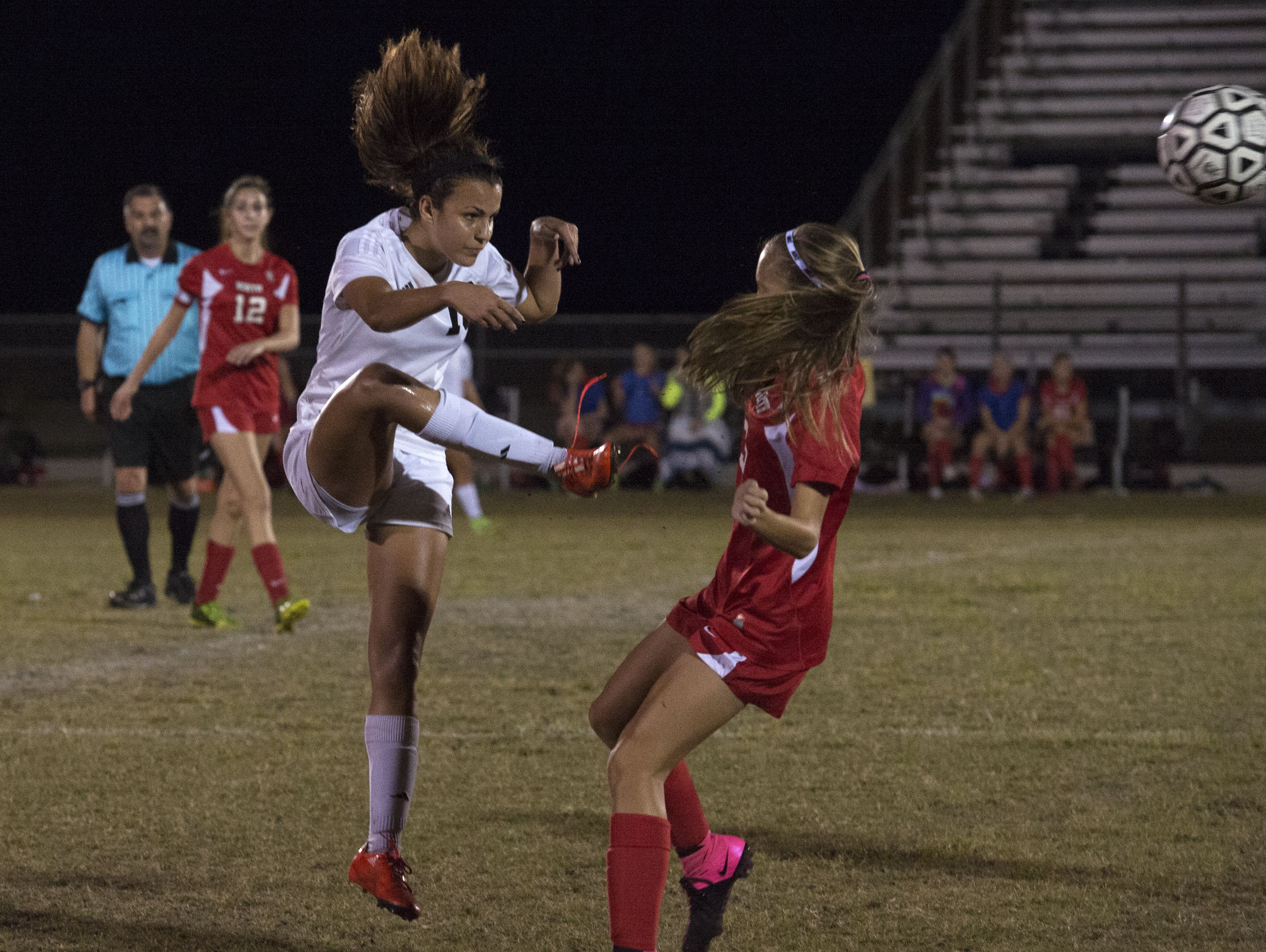 Mariner junior Sophia Restrepo and the Tritons are coming off 19-3-3 season and a district title.