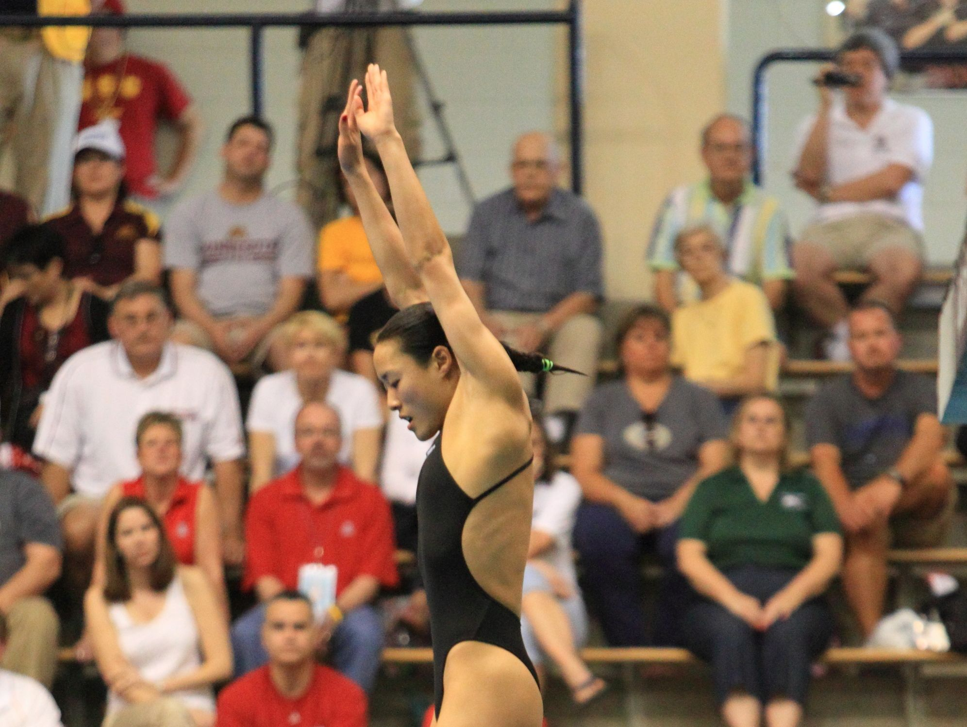 Jennifer Chiang, a standout at Fairport, went on to dive at Notre Dame.