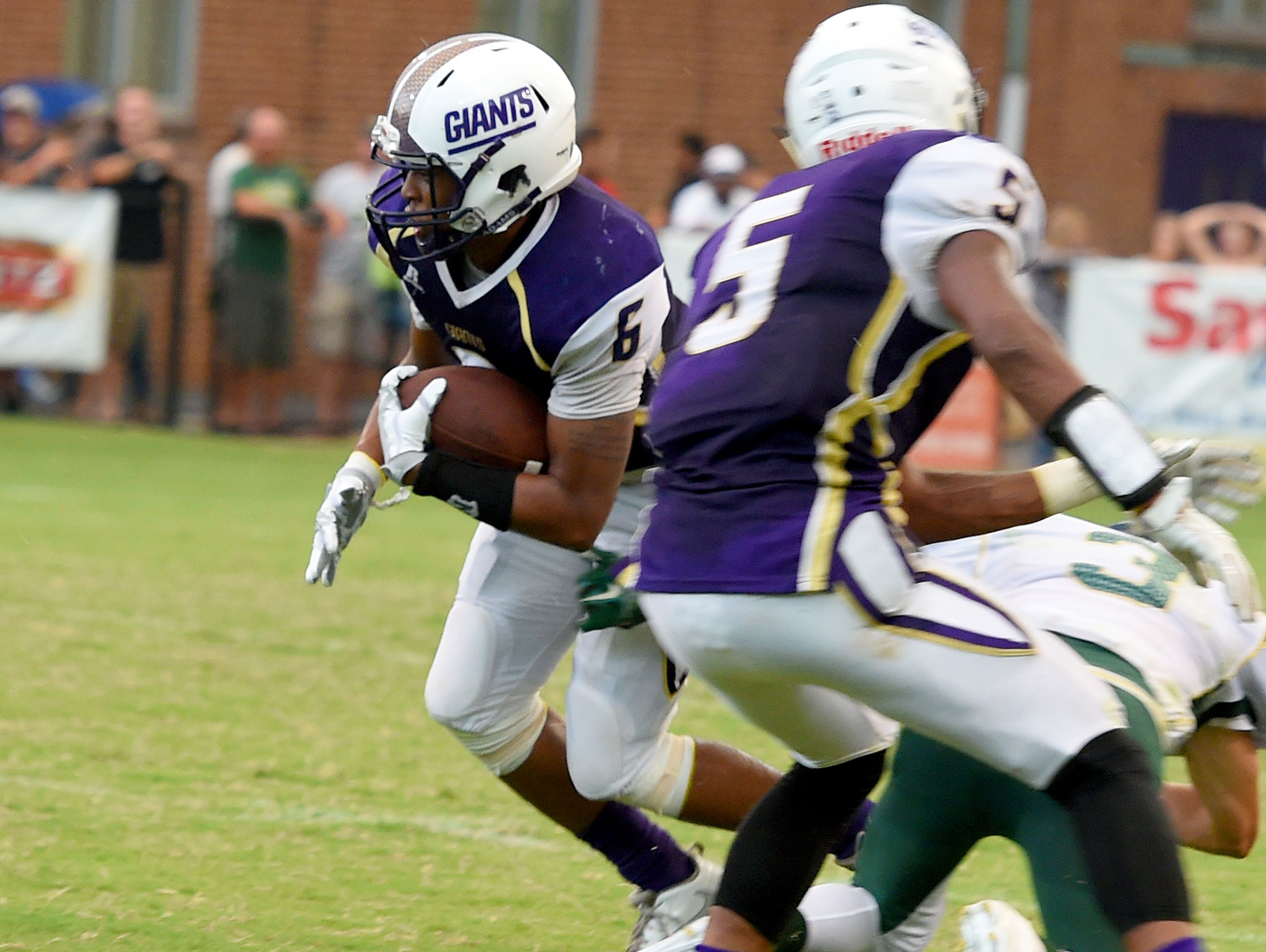 Waynesboro's Jadaciss Williams was named a first-team defensive back on the All-Conference 29 football team.