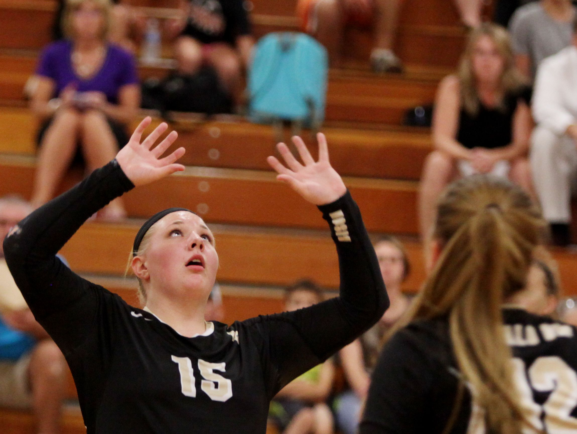 Buffalo Gap's Camille Ashby (15) was named Shenandoah District player of the year.