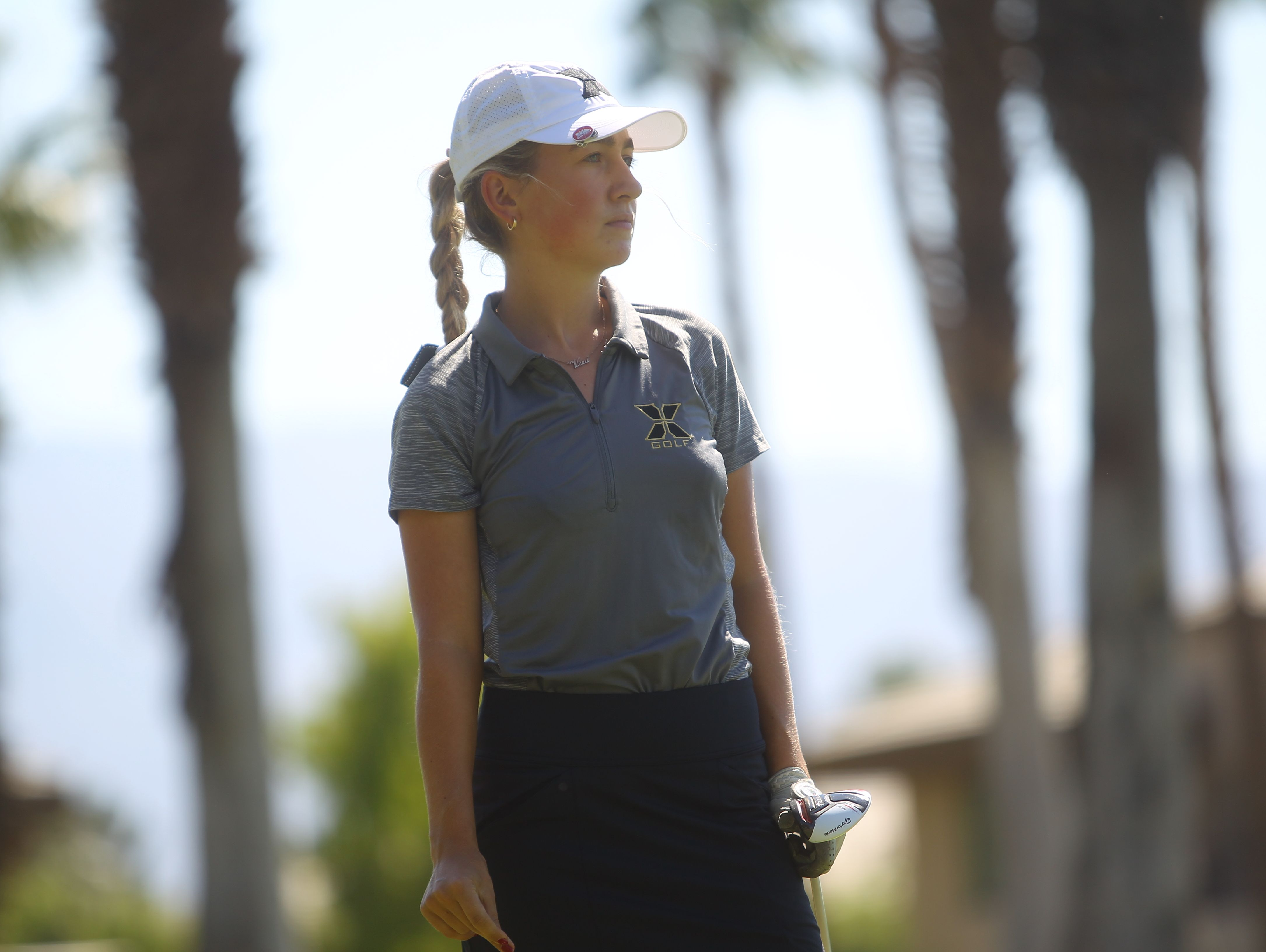 Russian Vera Markevich has helped Xavier Preparatory become a girls' golf contender in the Coachella Valley in the last two years.