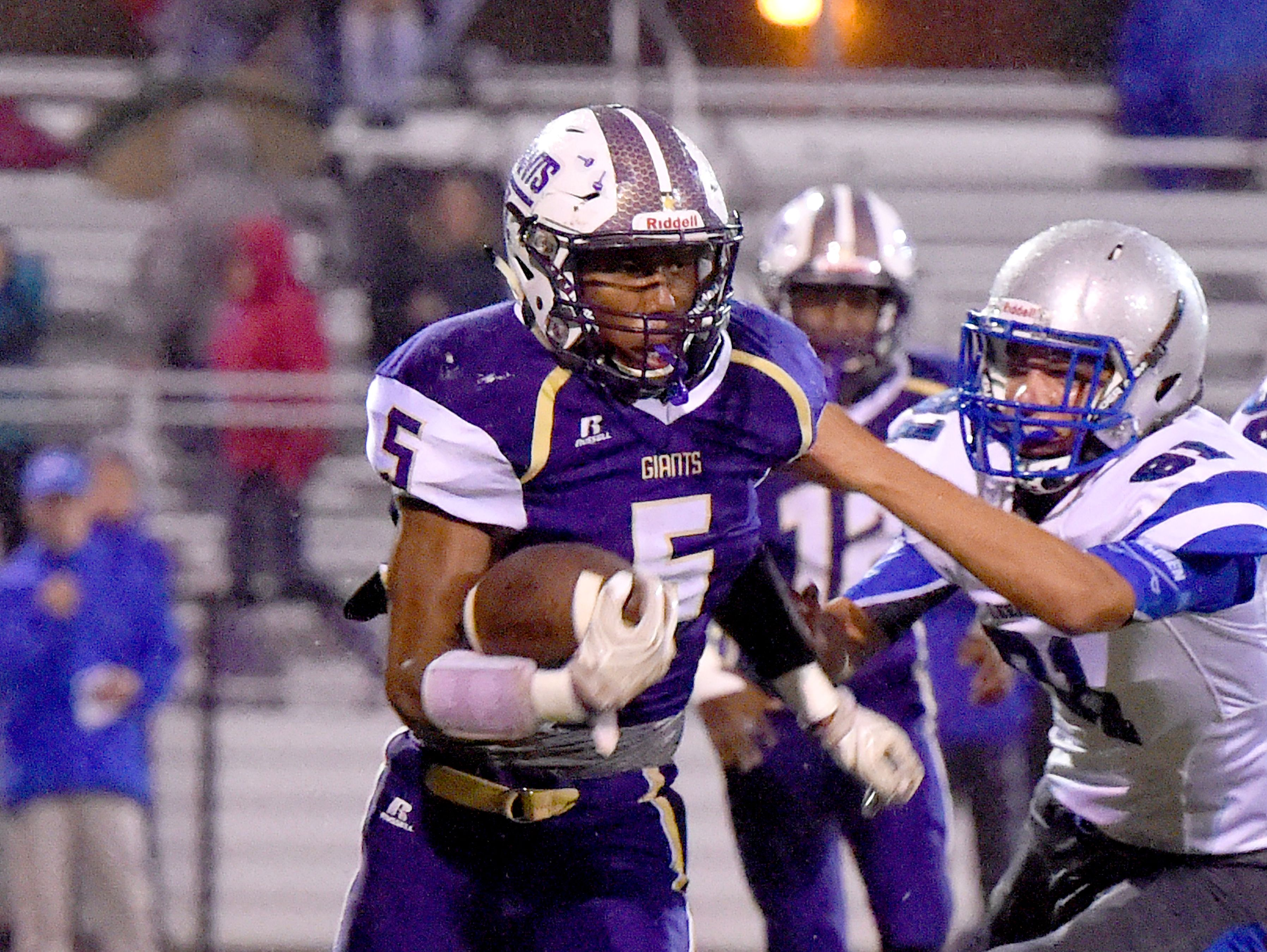 Waynesboro's Dequiondre Clark was a first-team selection to the All-Valley District football team as an offensive utility player.