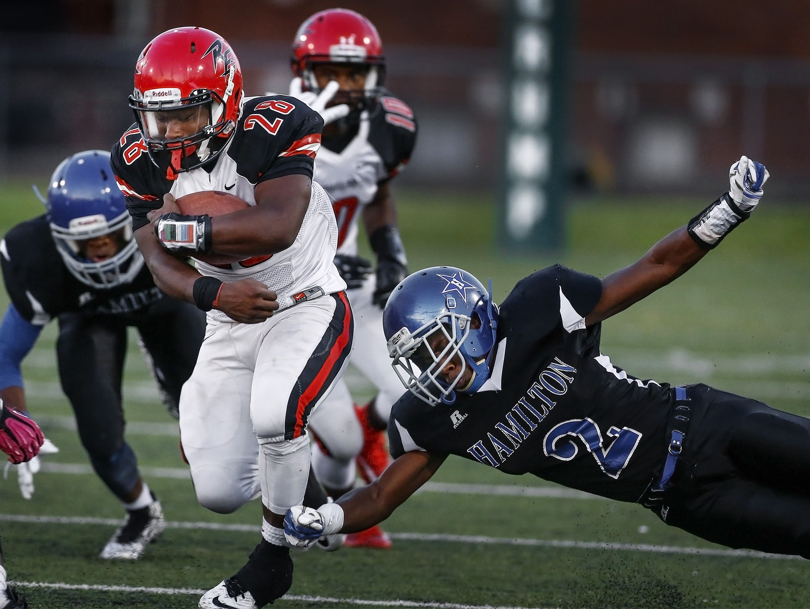 DaShawn Boyland and his Raleigh-Egypt teammates are in exclusive company; the Pharaohs are one of just 19 undefeated teams state-wide headed into Week 10.