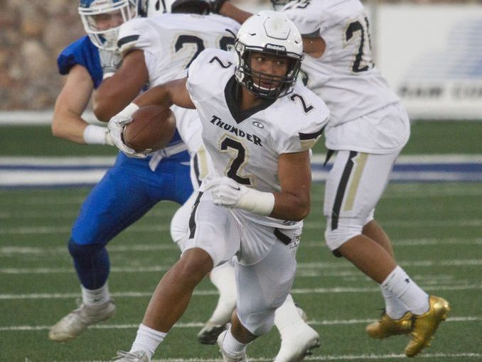 Desert Hills' Nephi Sewell suffered a season-ending neck injury last year, but has since made a comeback to lead his team into the 3AA Playoffs this season.