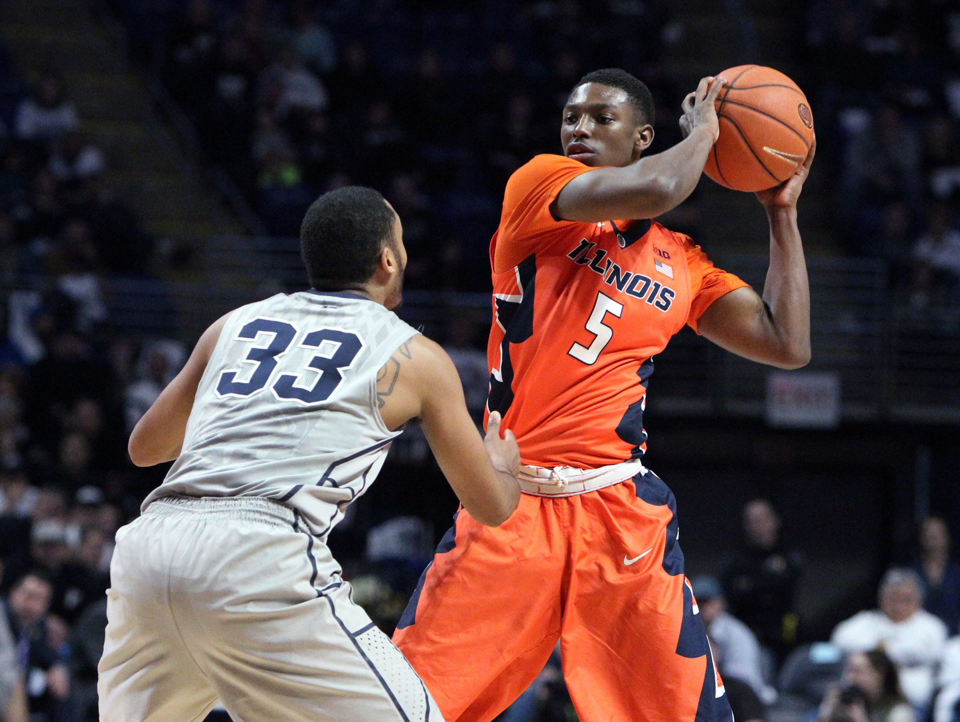 Illinois Fighting Illini guard Jalen Coleman-Lands (Cathedral)