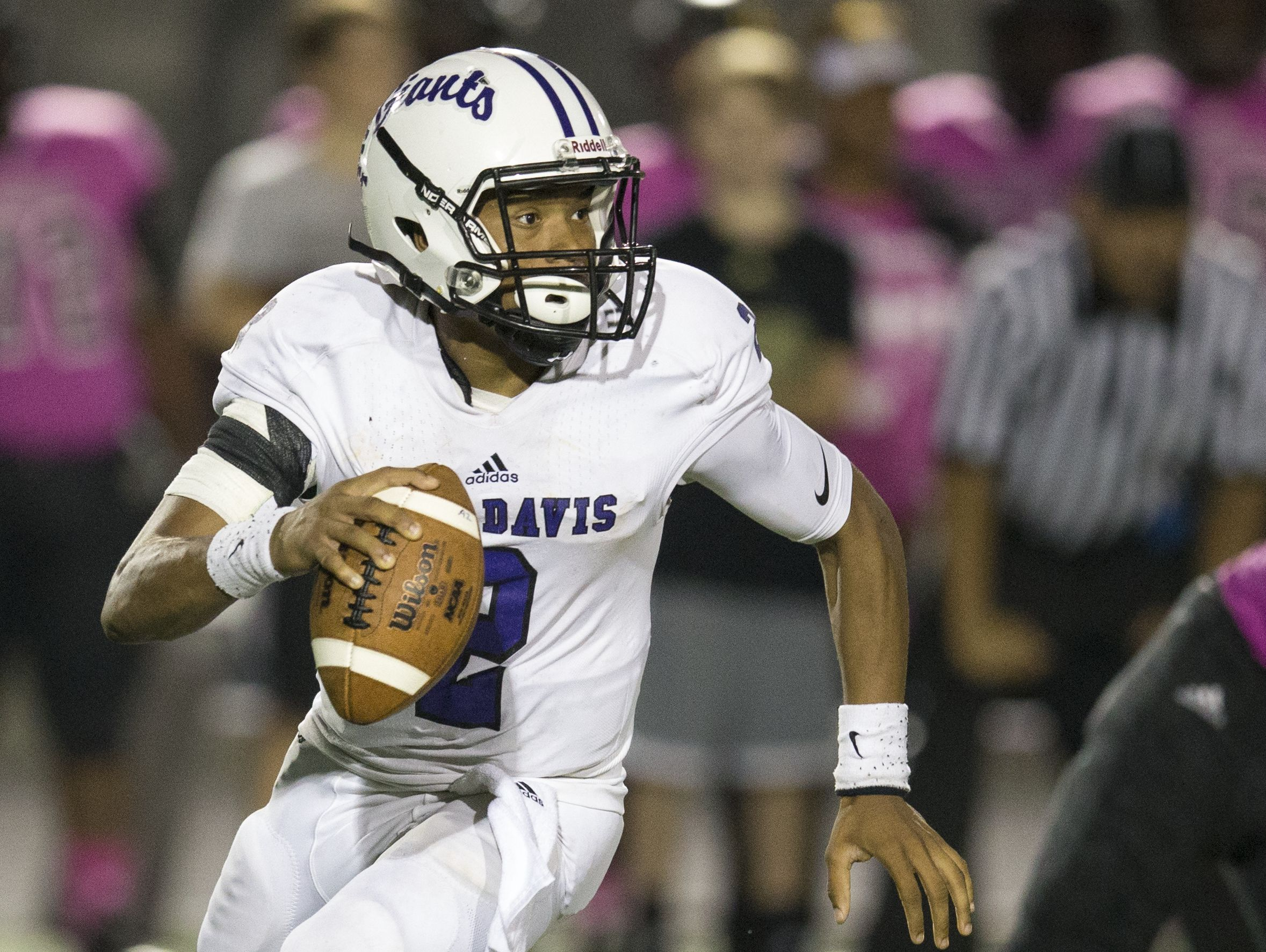 Reese Taylor accounted for 424 yards of total offense and four TDs in Ben Davis' win over Brownsburg last week.