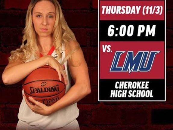 Women's basketball teams from Gardner-Webb and Lincoln Memorial (Tenn.) will hold a free youth clinic prior to their exhibition game Thursday at Cherokee.