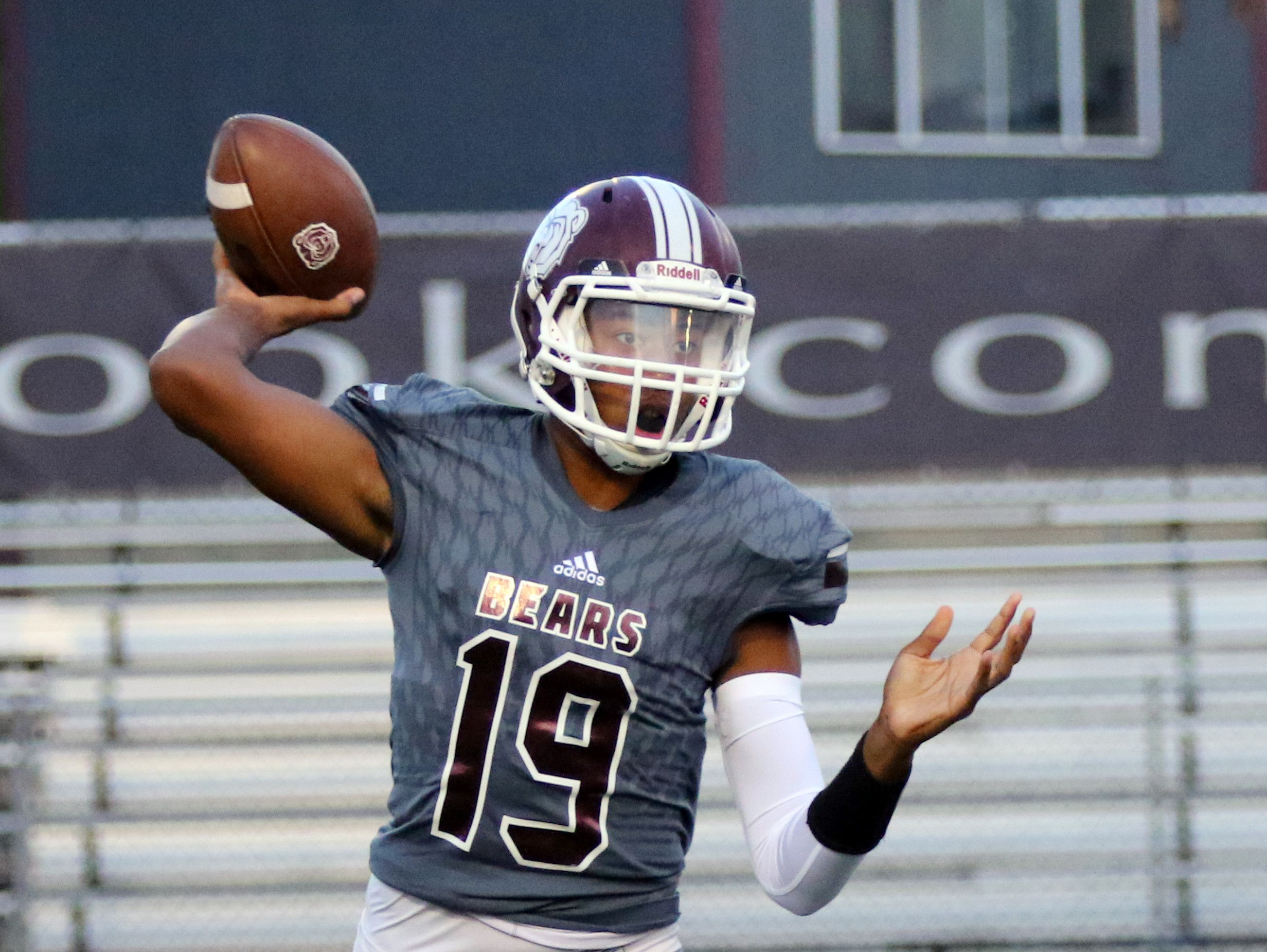 QB Donyell Merideth transferred from Cathedral to Lawrence Central.