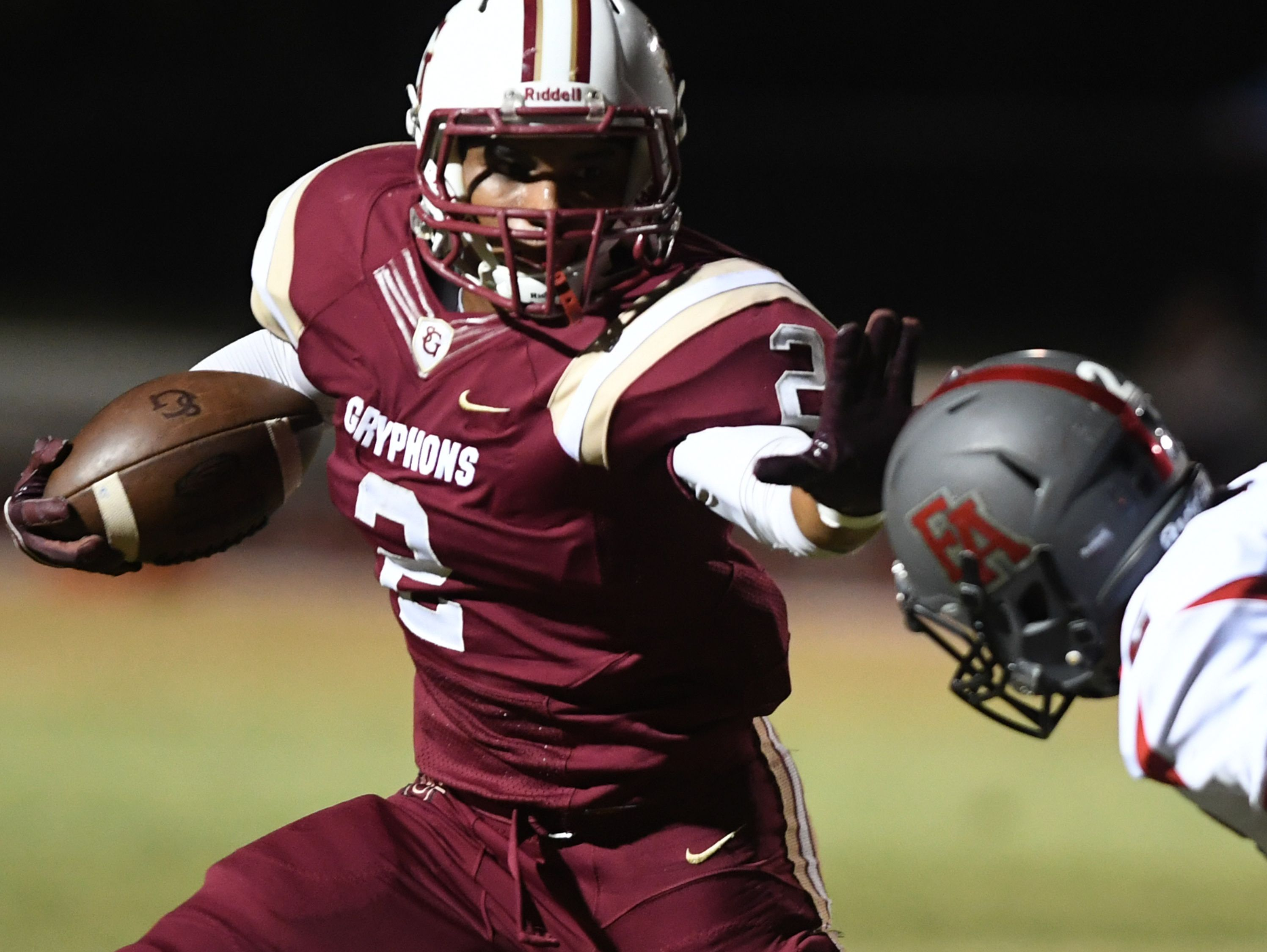 St. George's running back Chase Hayden is among several area stars named semifinalists for the Mr. Football awards.