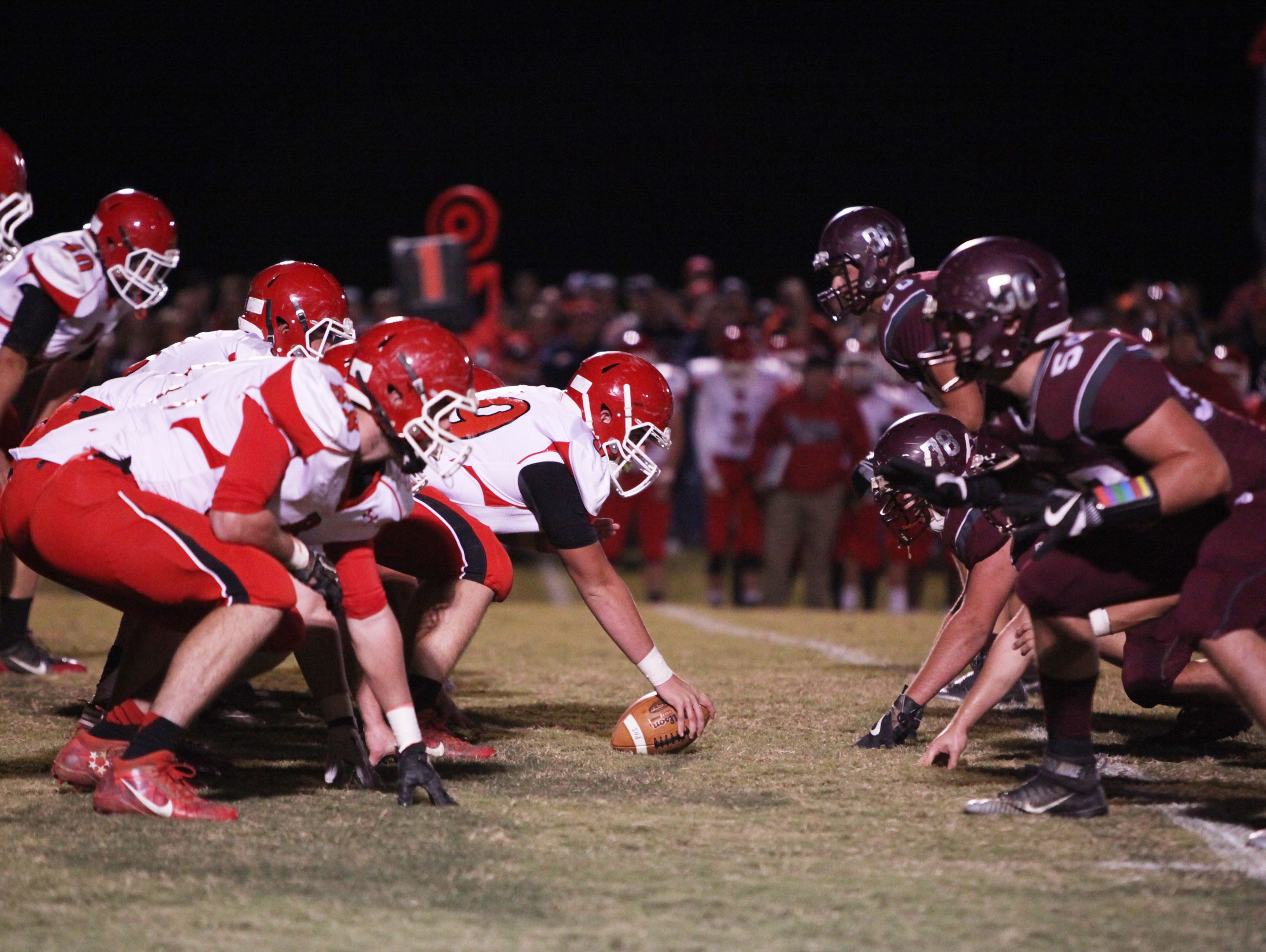Riverheads, ;eft and Stuarts Draft, right, face tough opponents Friday night in the second round of the VHSL regional playoffs.