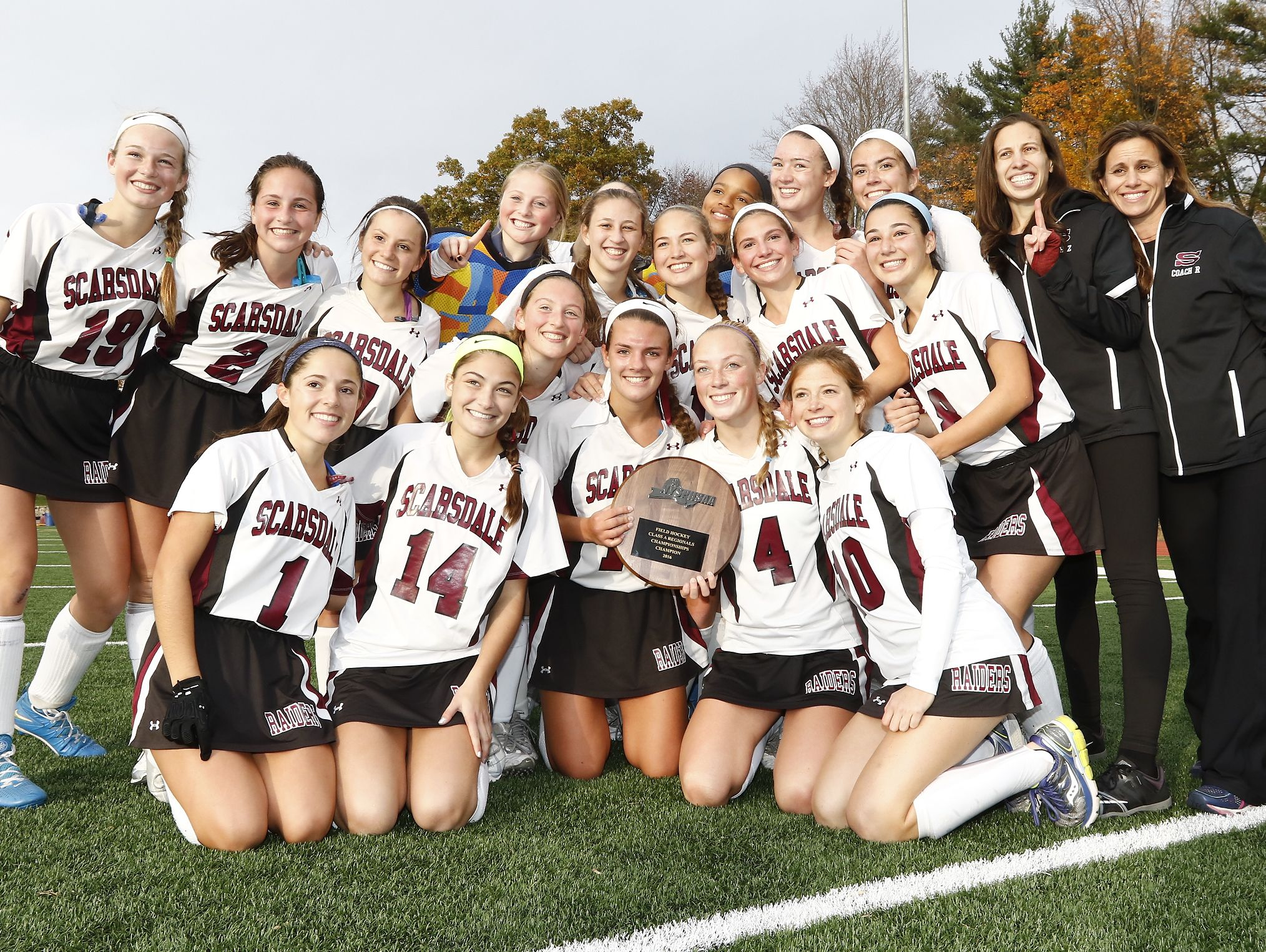 Scarsdale defeated Kingston 5-0 in a Class A regional final at Valhalla High School on Saturday.