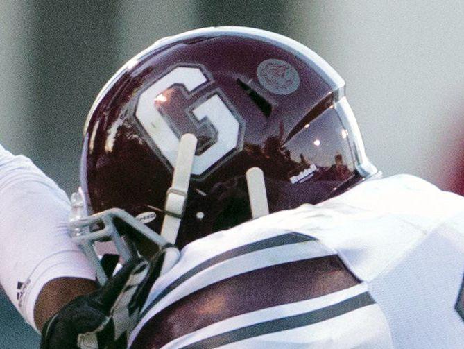 Grandville football helmet