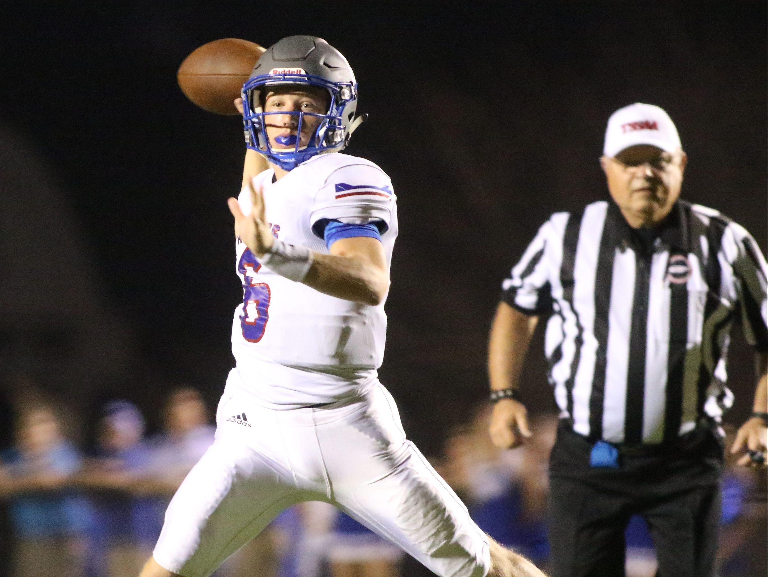 Page quarterback Jacob Van Landingham (6).