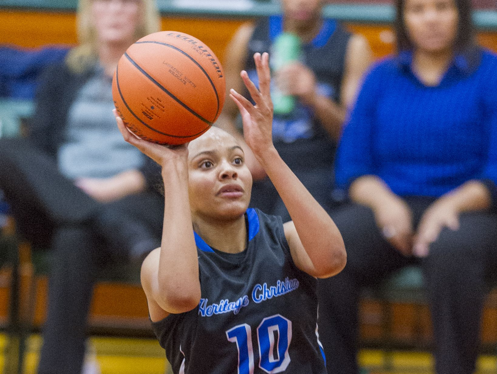 Heritage Christian's Katlyn Gilbert is one of the top players statewide in Class 3A.