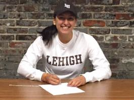 Charter School of Wilmington senior Mariel Hoeschel signs a letter of intent to row at Lehigh University.