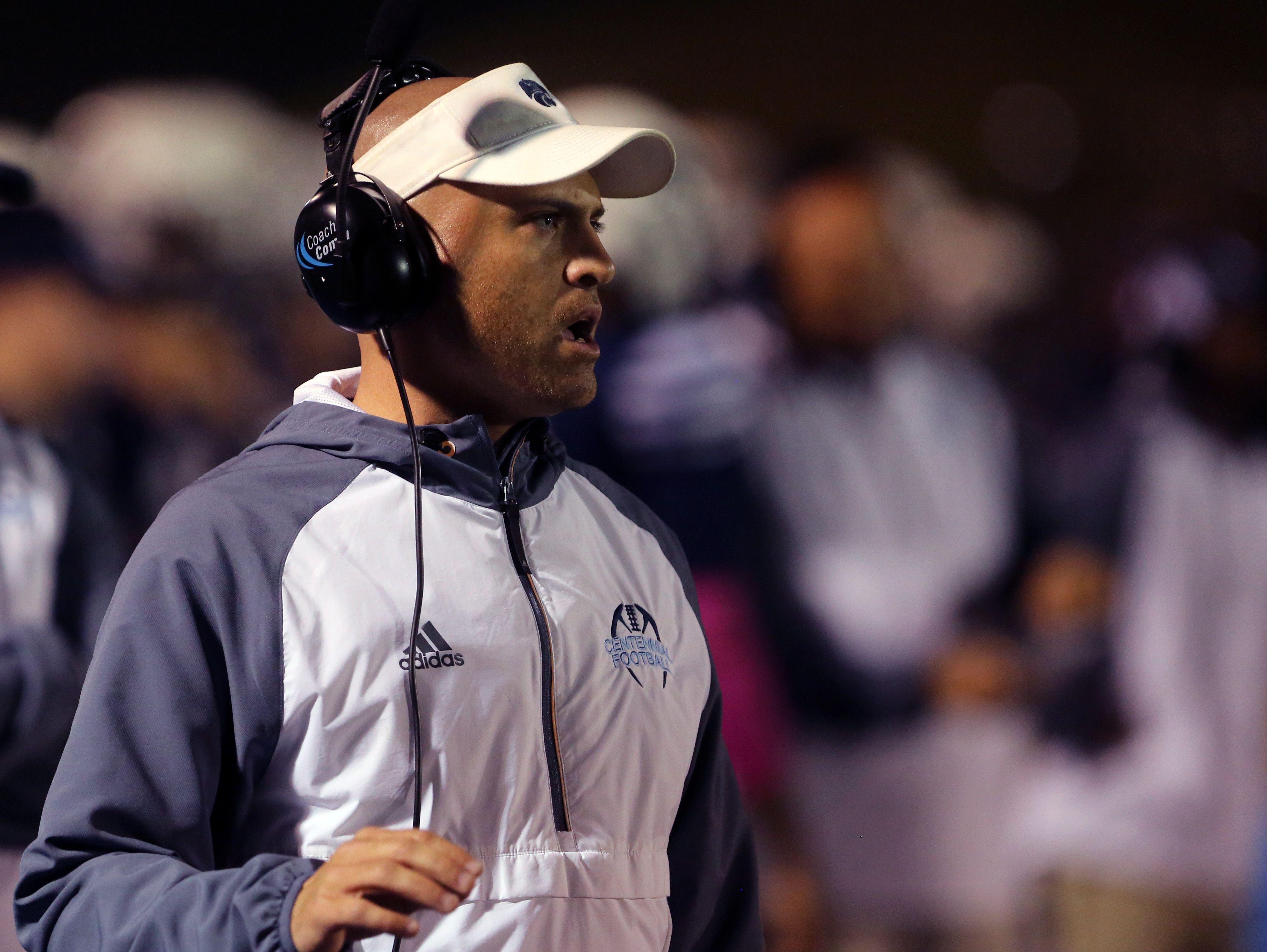 Centennial coach Matt Kriesky