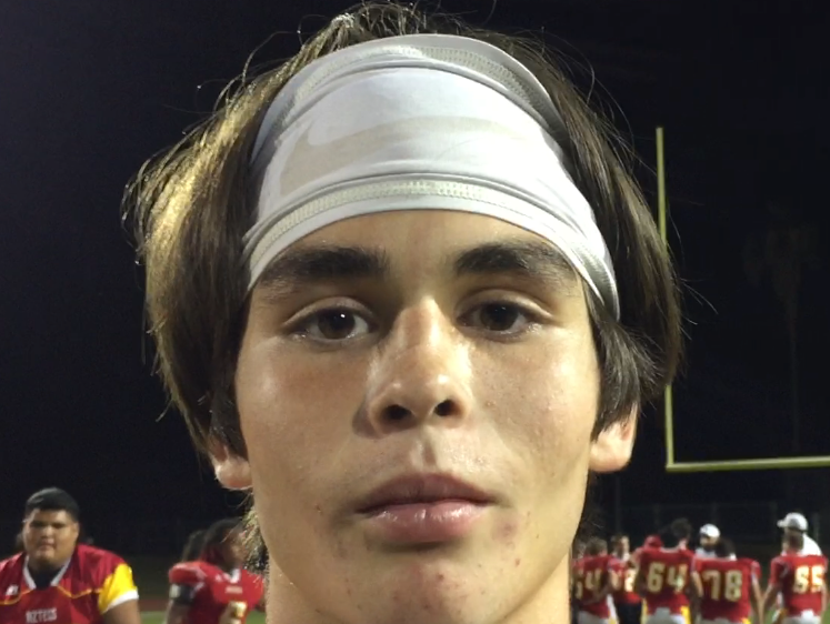 Palm Desert kicker Jacob McIlroy kicked two big field goals against Indio - one that pushed the game into overtime and another to win it.
