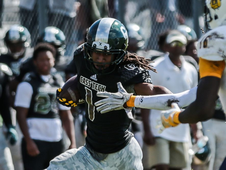 Here's a look at Michigan's 2017 football recruiting class, starting with Jaylen Kelly-Powell, a three-star safety from Detroit Cass Tech.