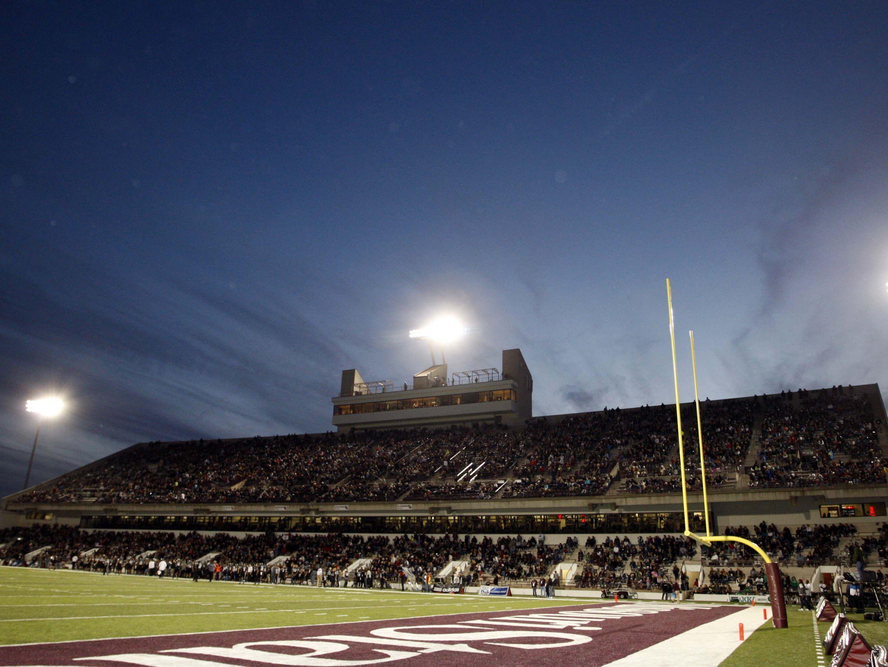 Missouri State University's Plaster Sports Complex hosts five Missouri state championship football games on Nov. 24 and 25.