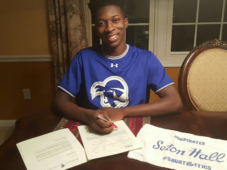 Appoquinimink senior Myles Cale, ranked among the nation's top boys basketball players, has signed with Seton Hall.