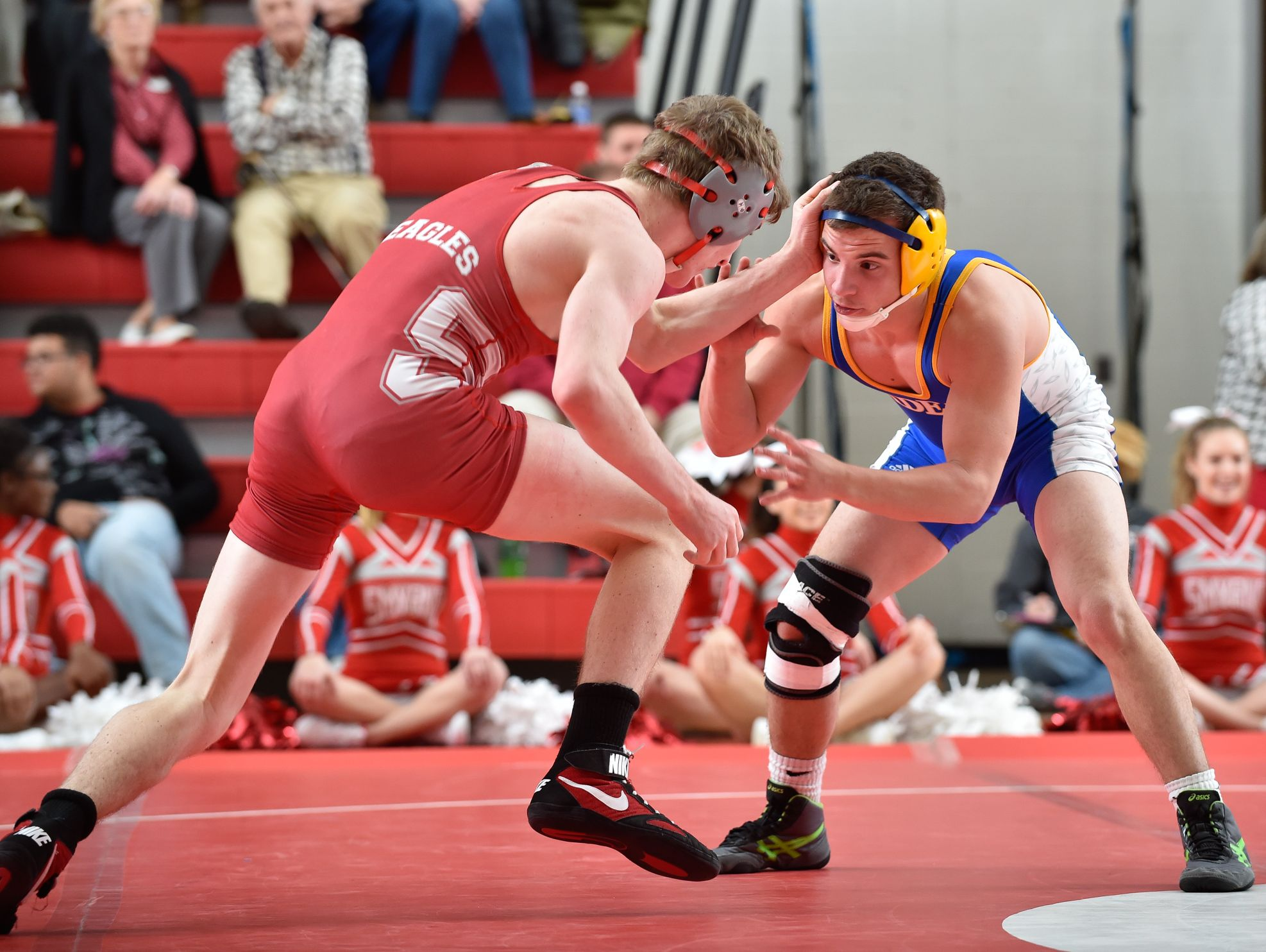 Smyrna's Chase Archangelo, left, recently signed his letter of intent to wrestle at Division I Cleveland State University.