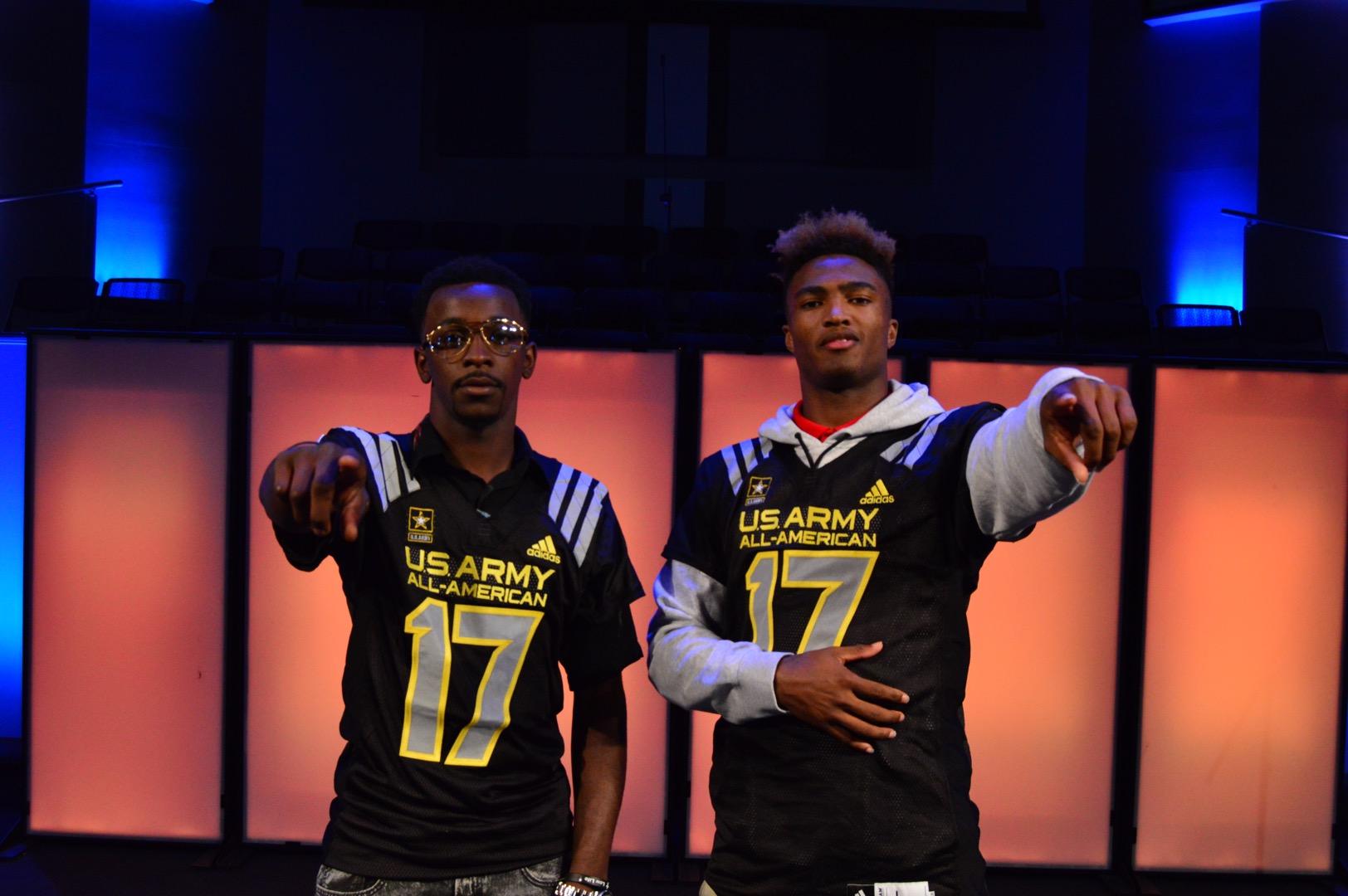 D.J. Matthews and Shaun Wade (Photo: AAG)