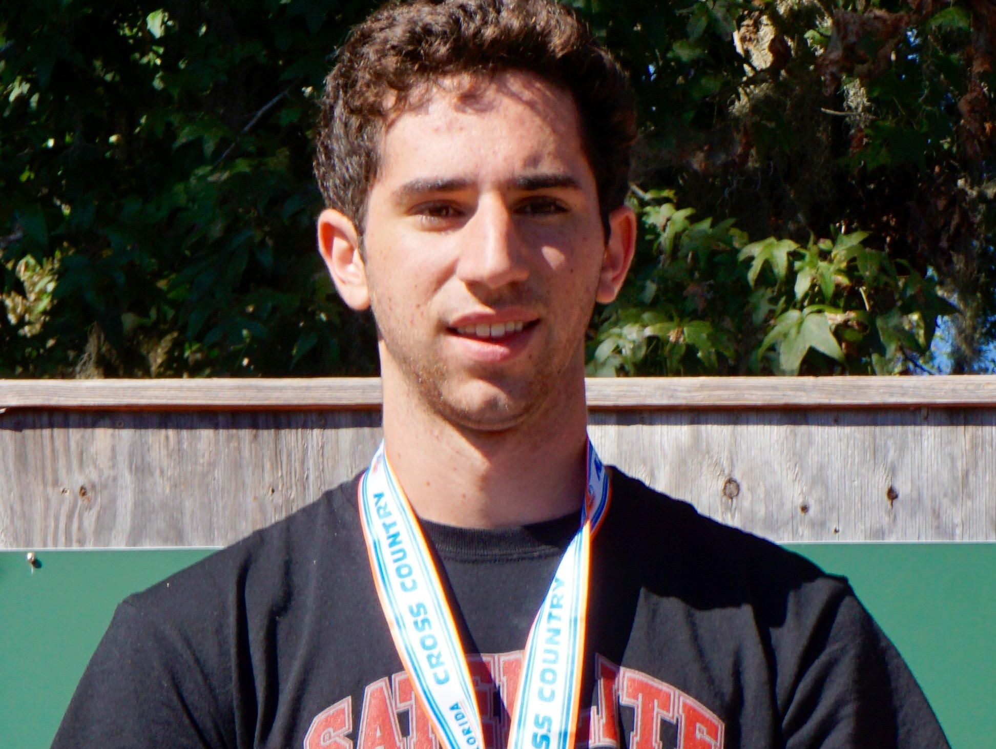 Satellite's John Cacciatore placed third with a personal-best 15:36.