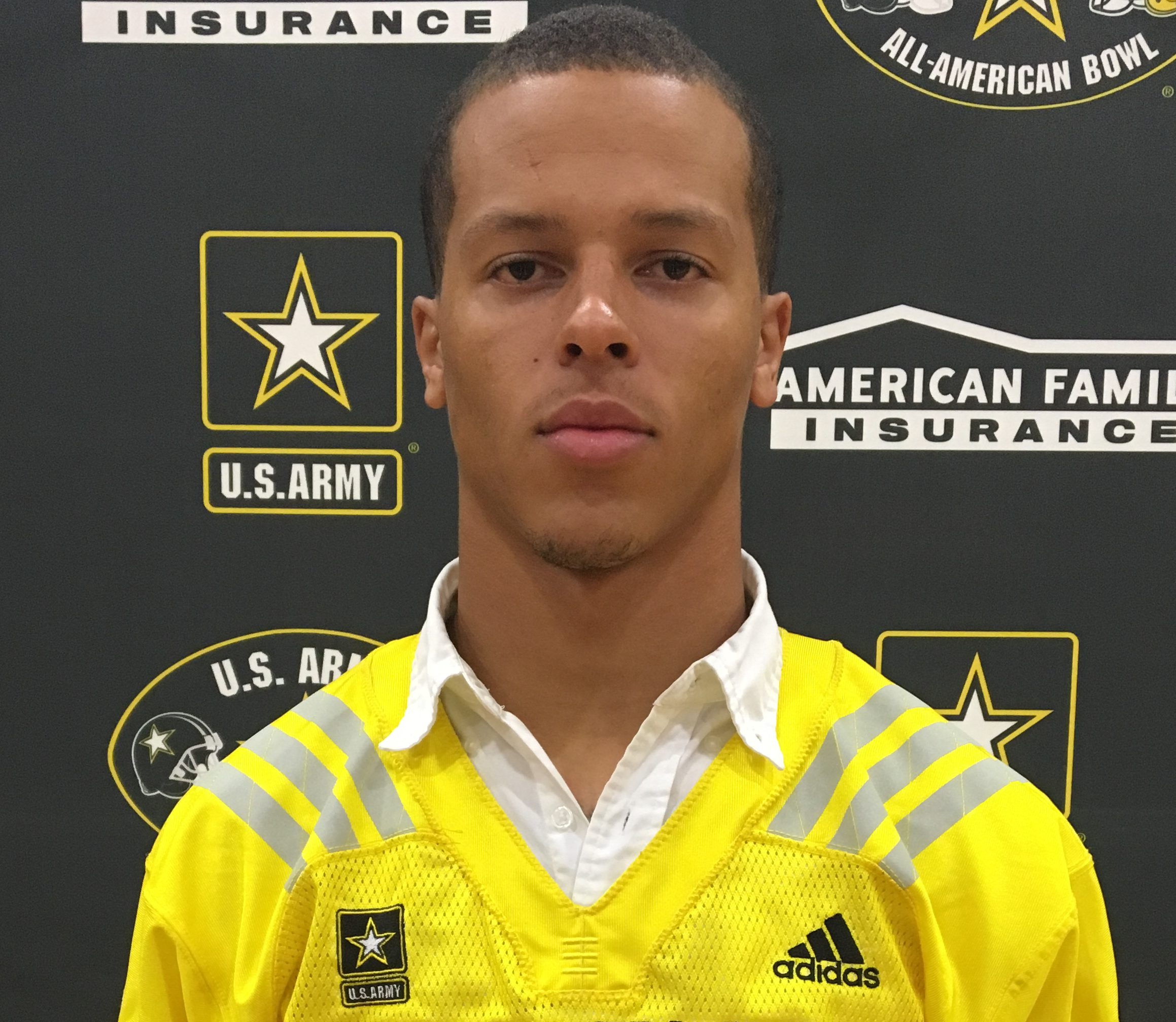 Bubba Bolden with his Army All-American jersey Photo: Army All-American Bowl)