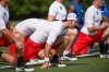 July 6, 2016 -- Beaverton, OR, U.S.A -- Quarterback Jake Fromm of Houston County (Georgia) warms up at The Opening and Elite 11 high school football camp at Nike headquarters in Oregon. -- Photo by Troy Wayrynen-USA TODAY Sports Images, Gannett ORG XMIT: US 135130 opening/ elite 1 7/6/2016 [Via MerlinFTP Drop]