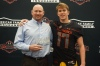 Zach Feagles presented his dad, Jeff Feagles, with the Dream Champion Award. (Photo: Intersport)