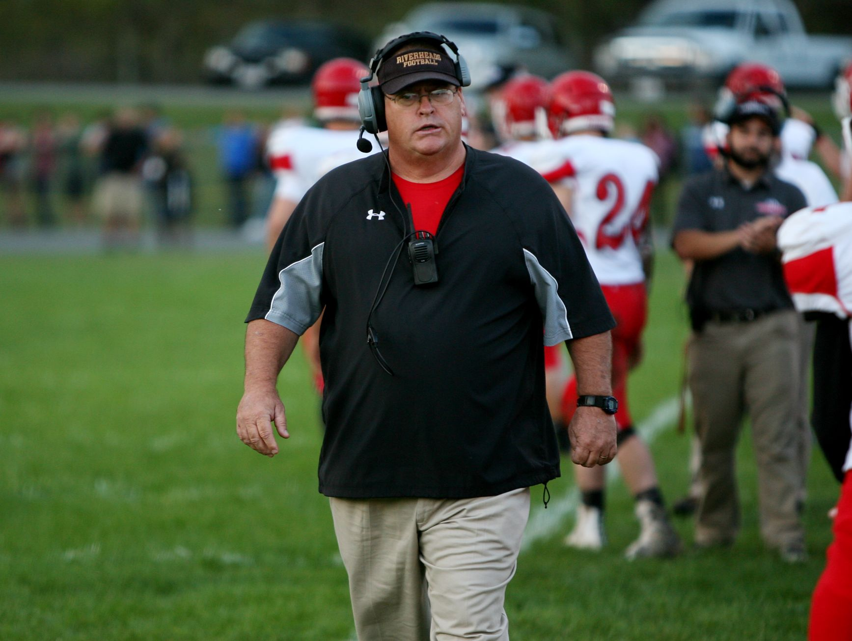 This season, Riverheads head coach Robert Casto has guided the Gladiators to its fifth state final berth since 2000.