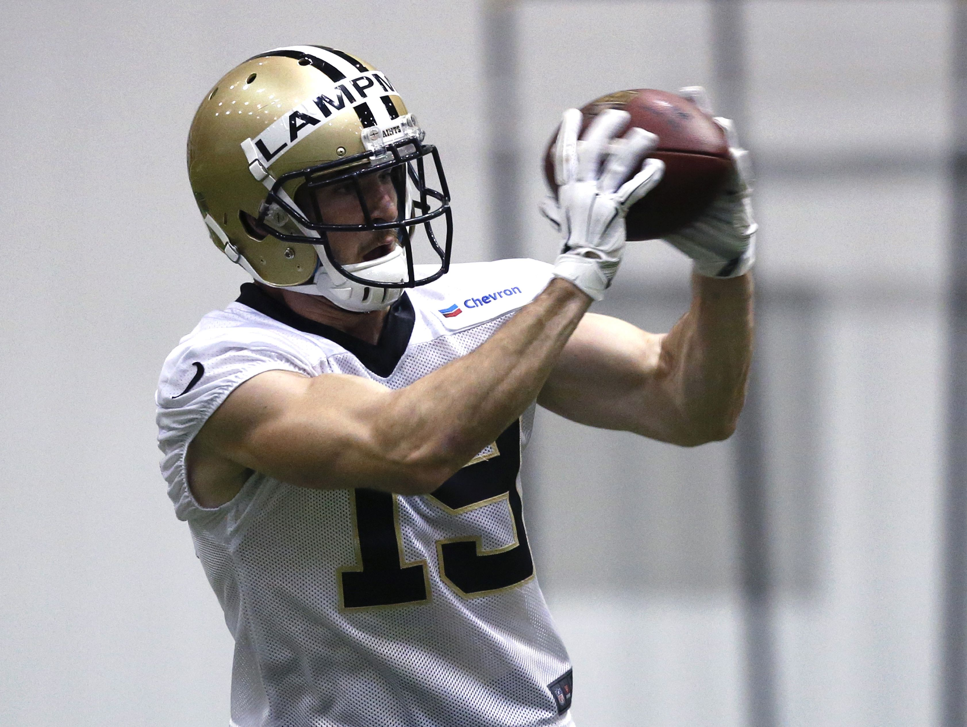 New Orleans Saints receiver and special-teams standout Jake Lampman will face the visiting Lions on Sunday.